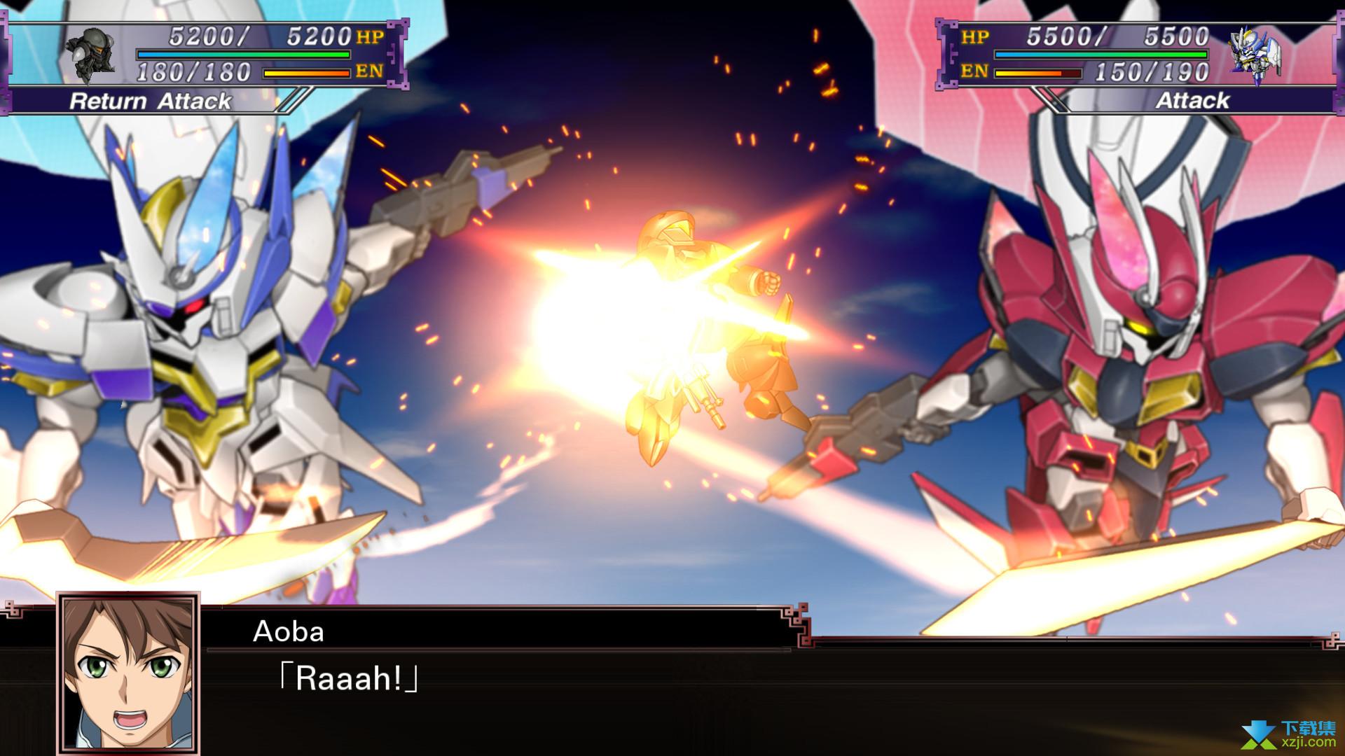 超级机器人大战X游戏效果图2