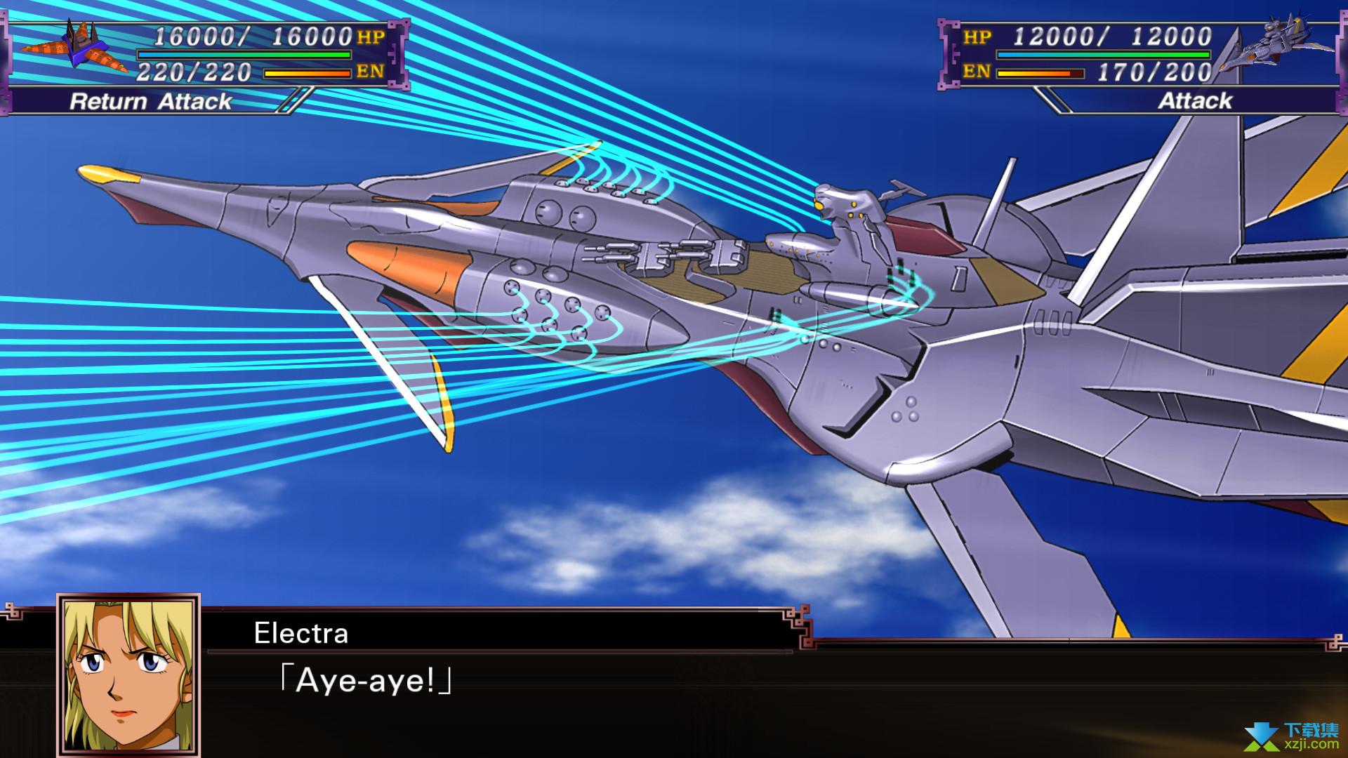 超级机器人大战X游戏效果图4