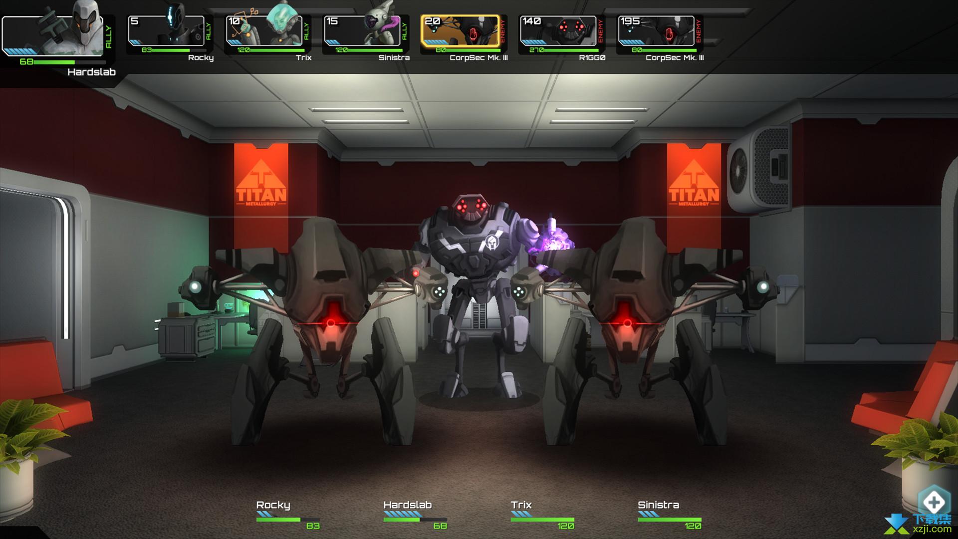 星际爬行者游戏界面