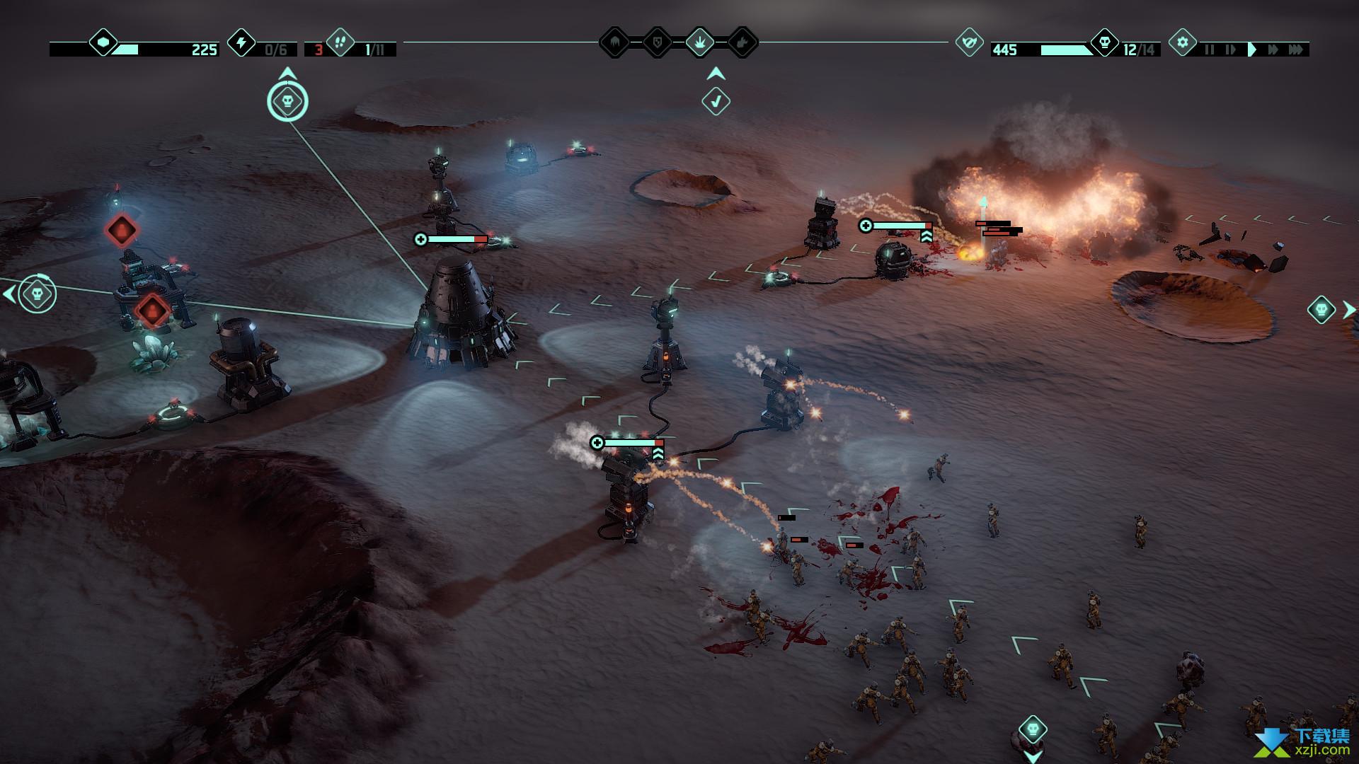 火星Z战术基地防御游戏界面5