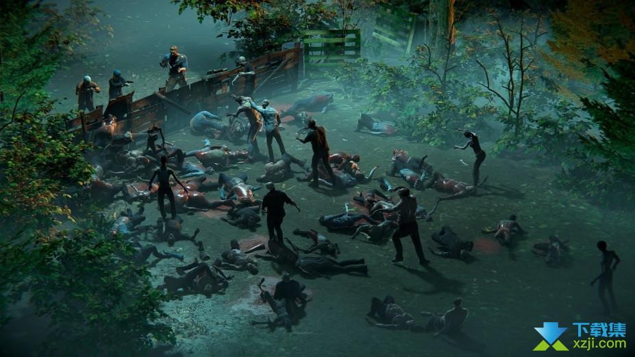 丧尸前线游戏界面