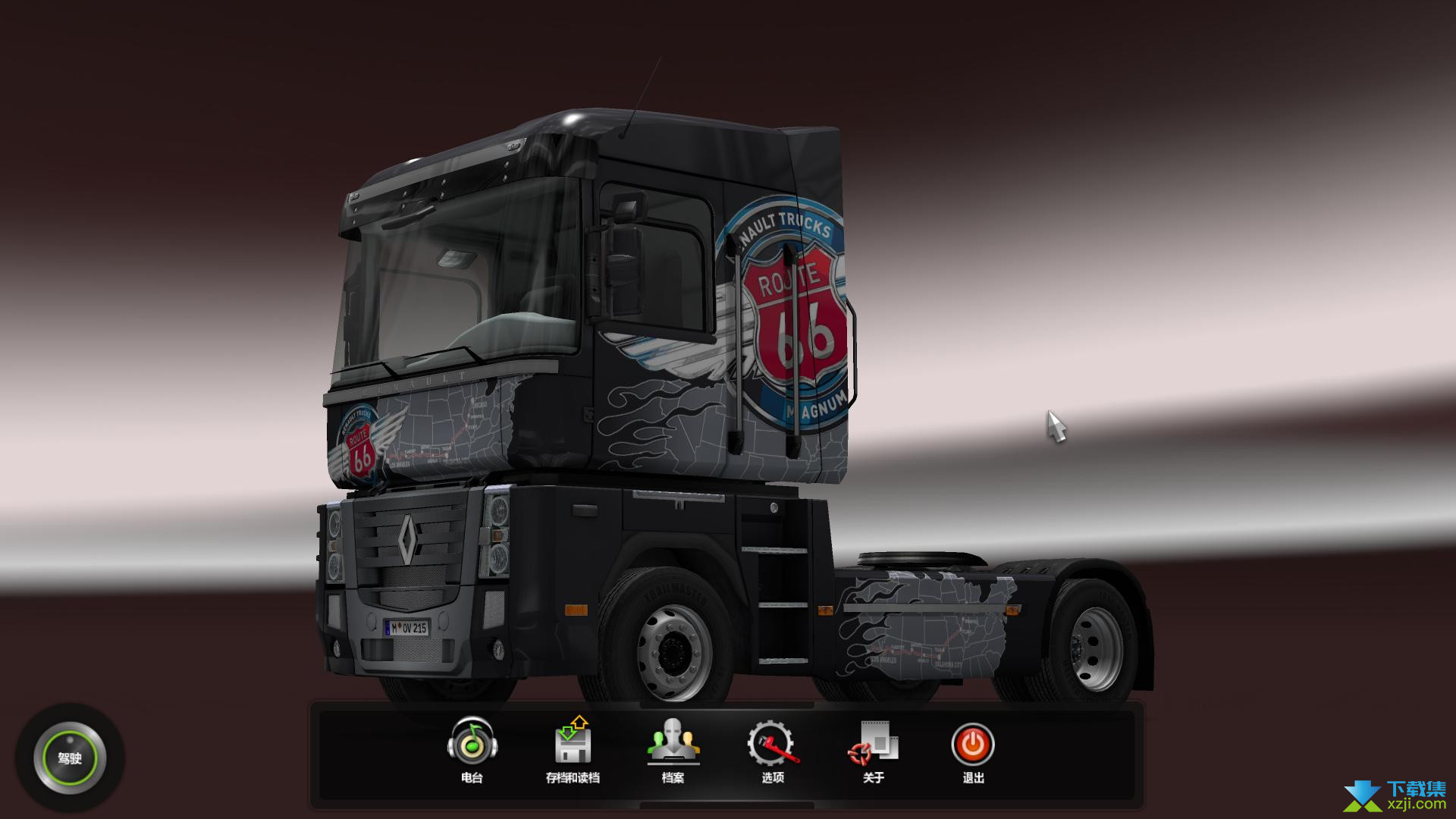 欧洲卡车模拟2界面