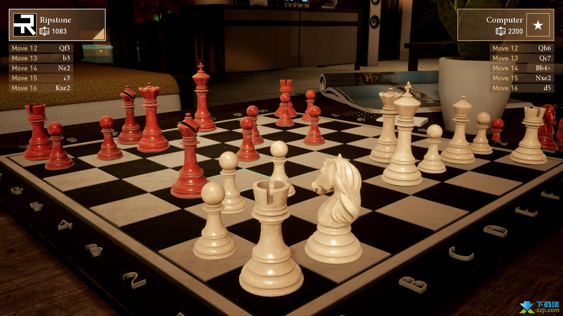 终极国际象棋界面