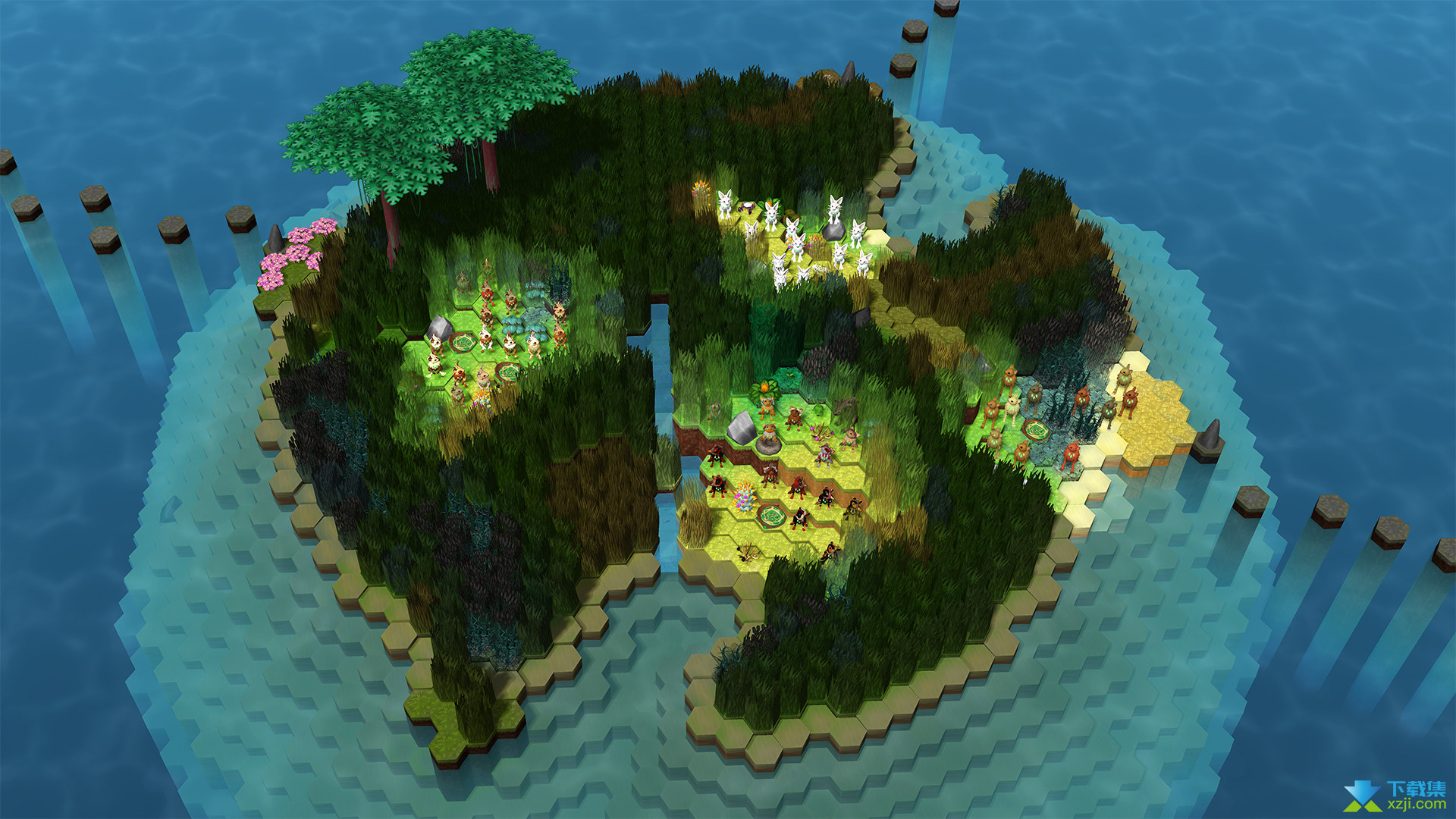 生态位遗传学生存游戏界面4