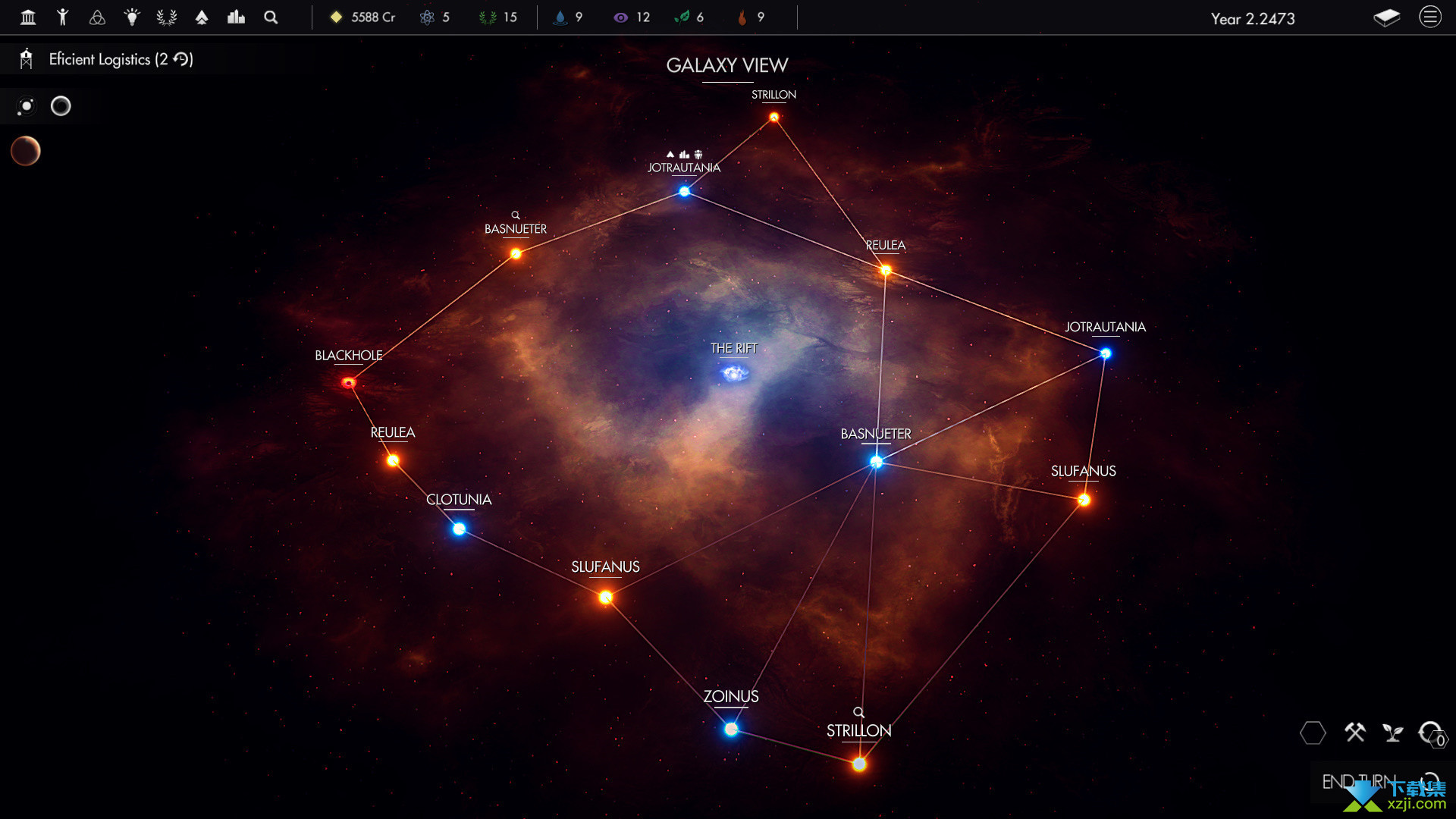 帕克斯新星界面2