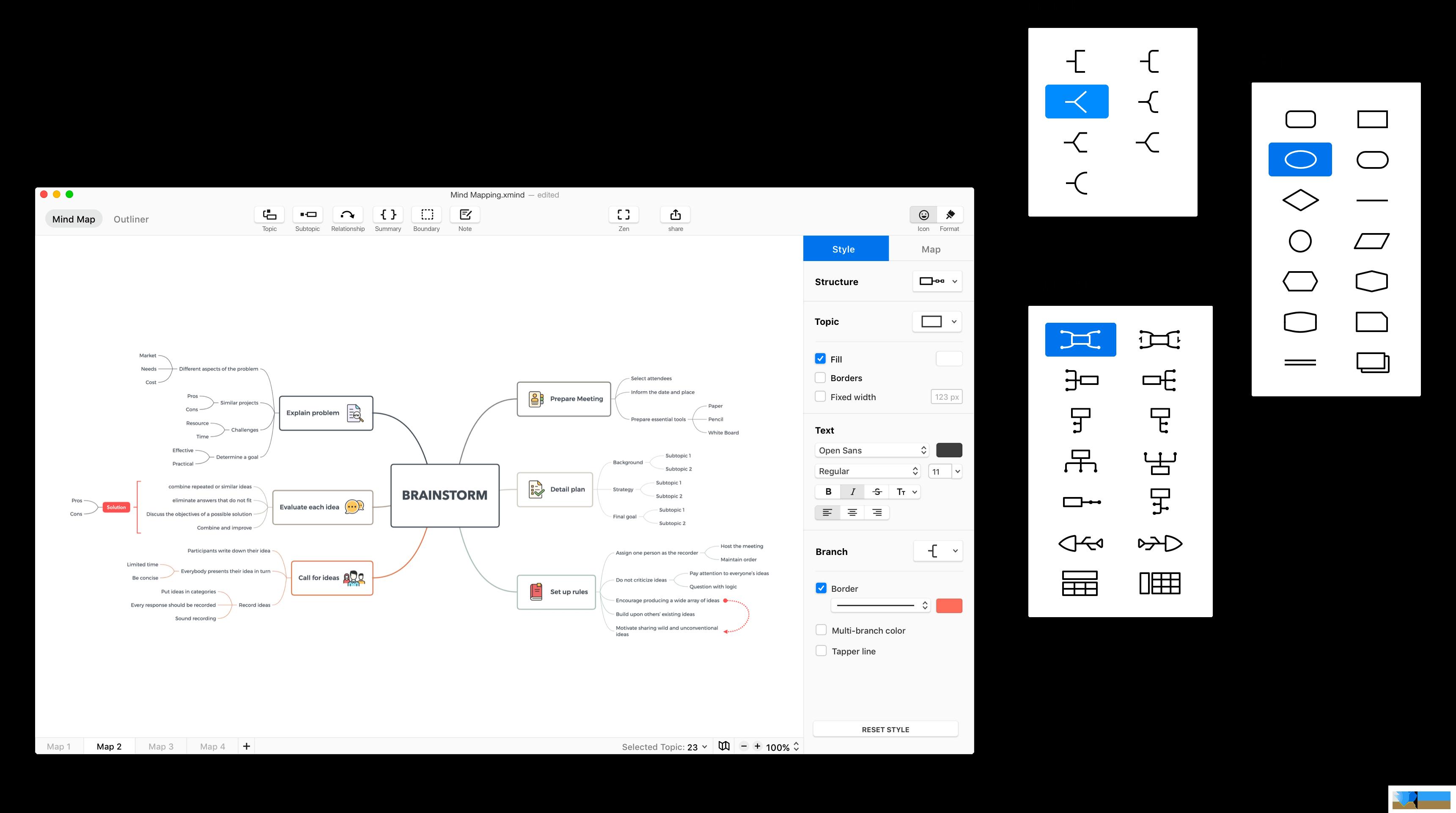XMind 2020界面