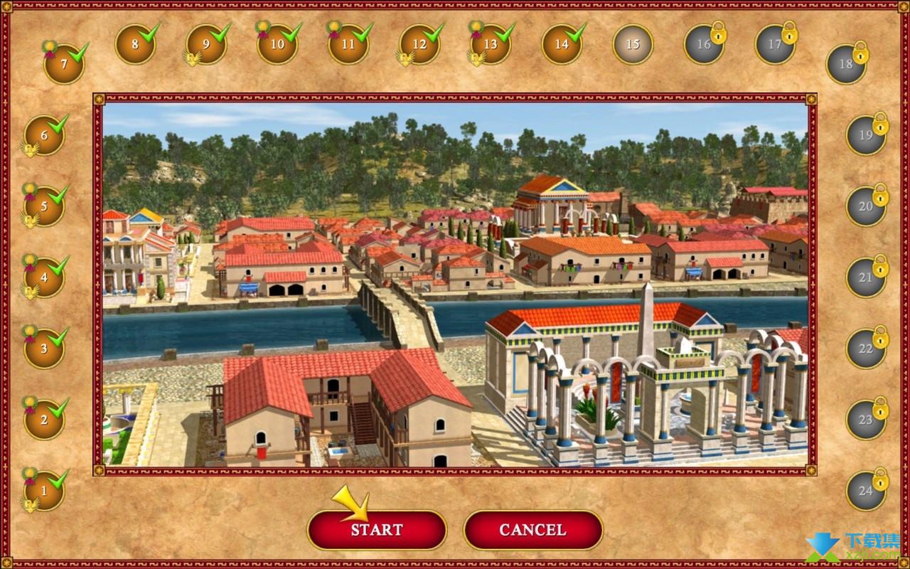 罗马建筑师界面4