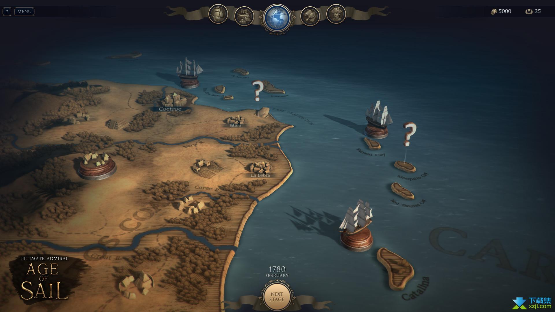 终极提督航海时代界面2