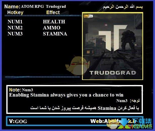 核爆RPG特鲁多格勒修改器+3