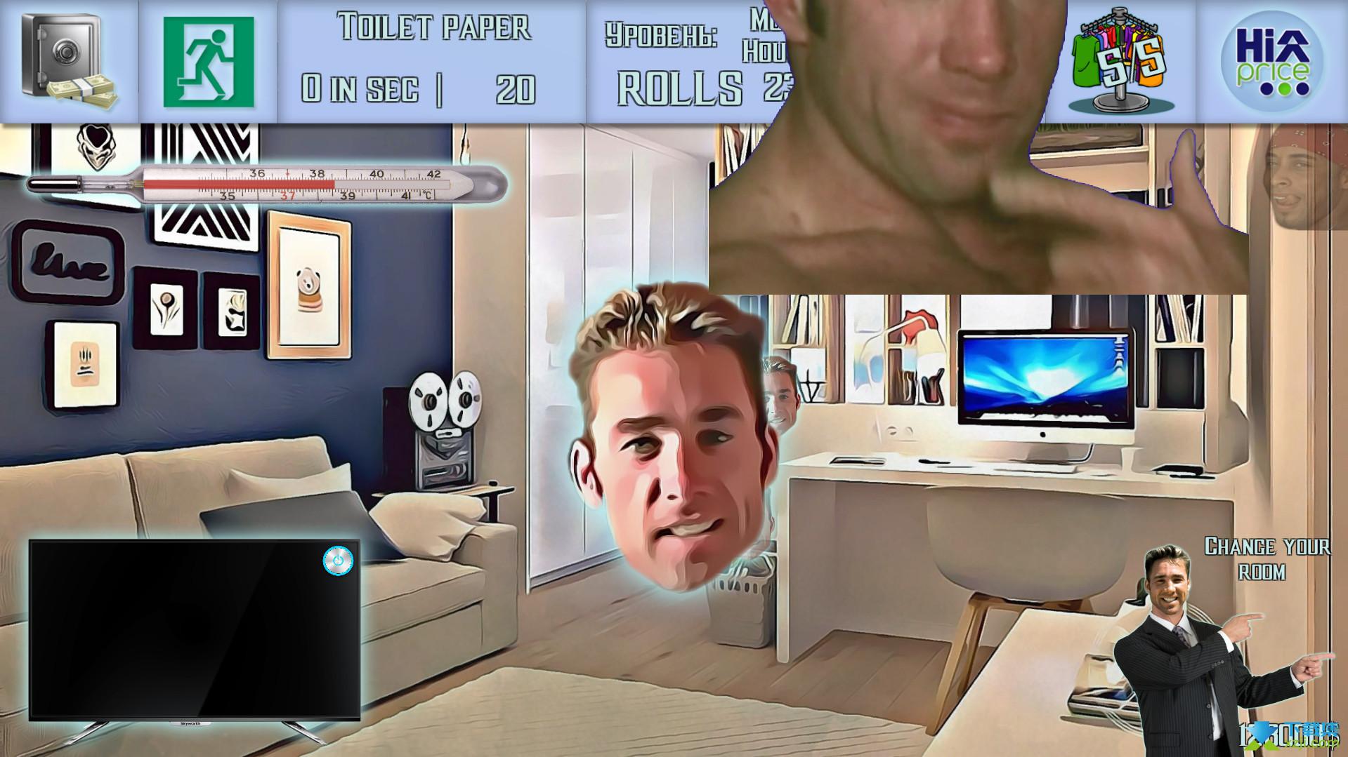 家庭生活模拟器界面