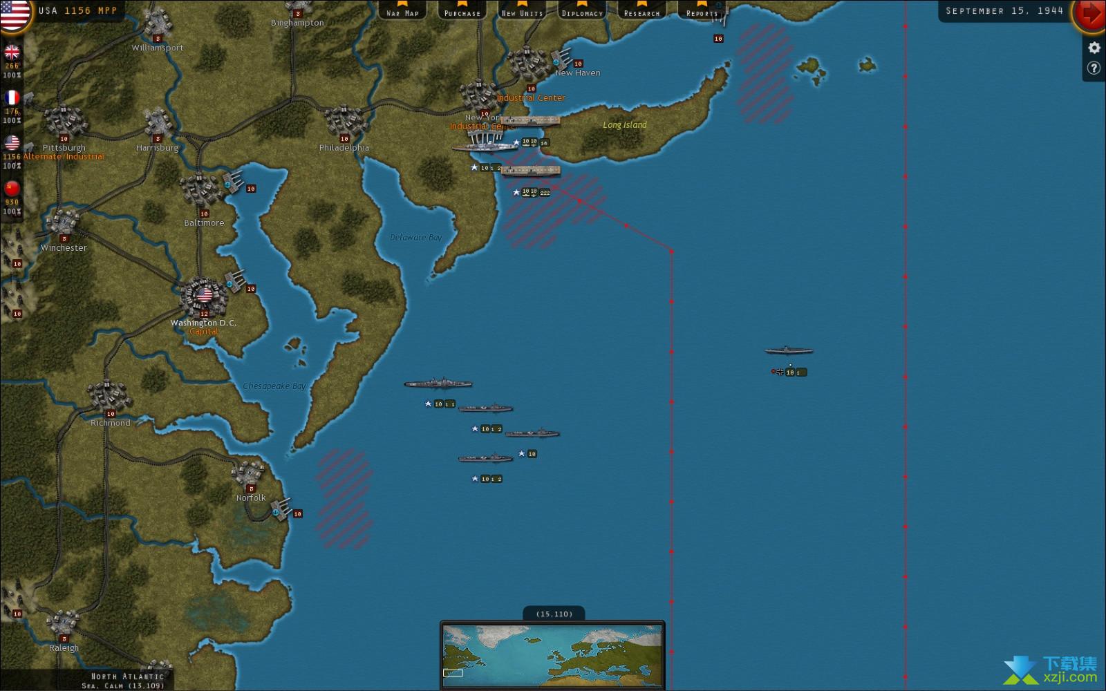 战略命令二战-欧洲战场界面3