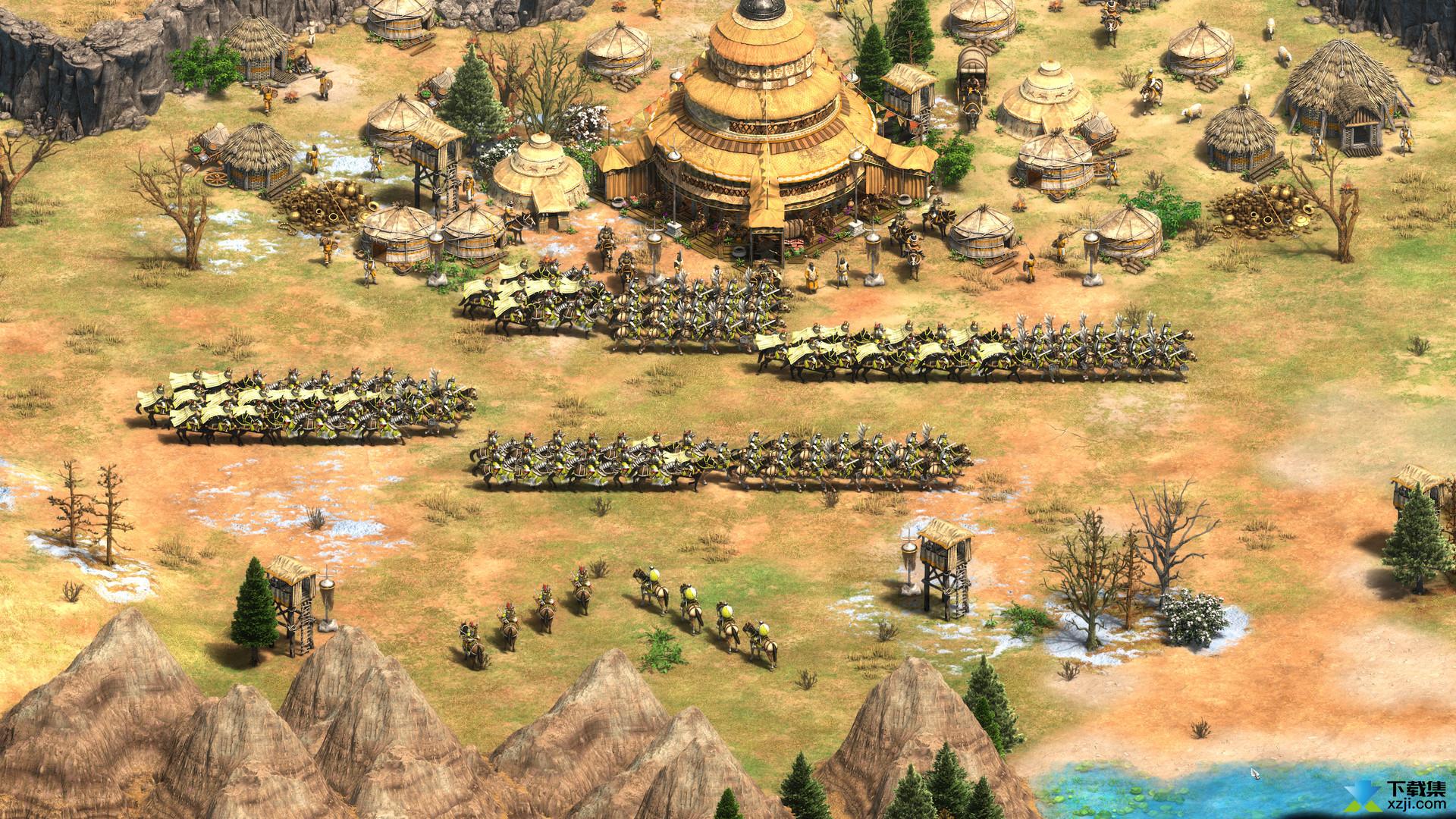 帝国时代2决定版界面