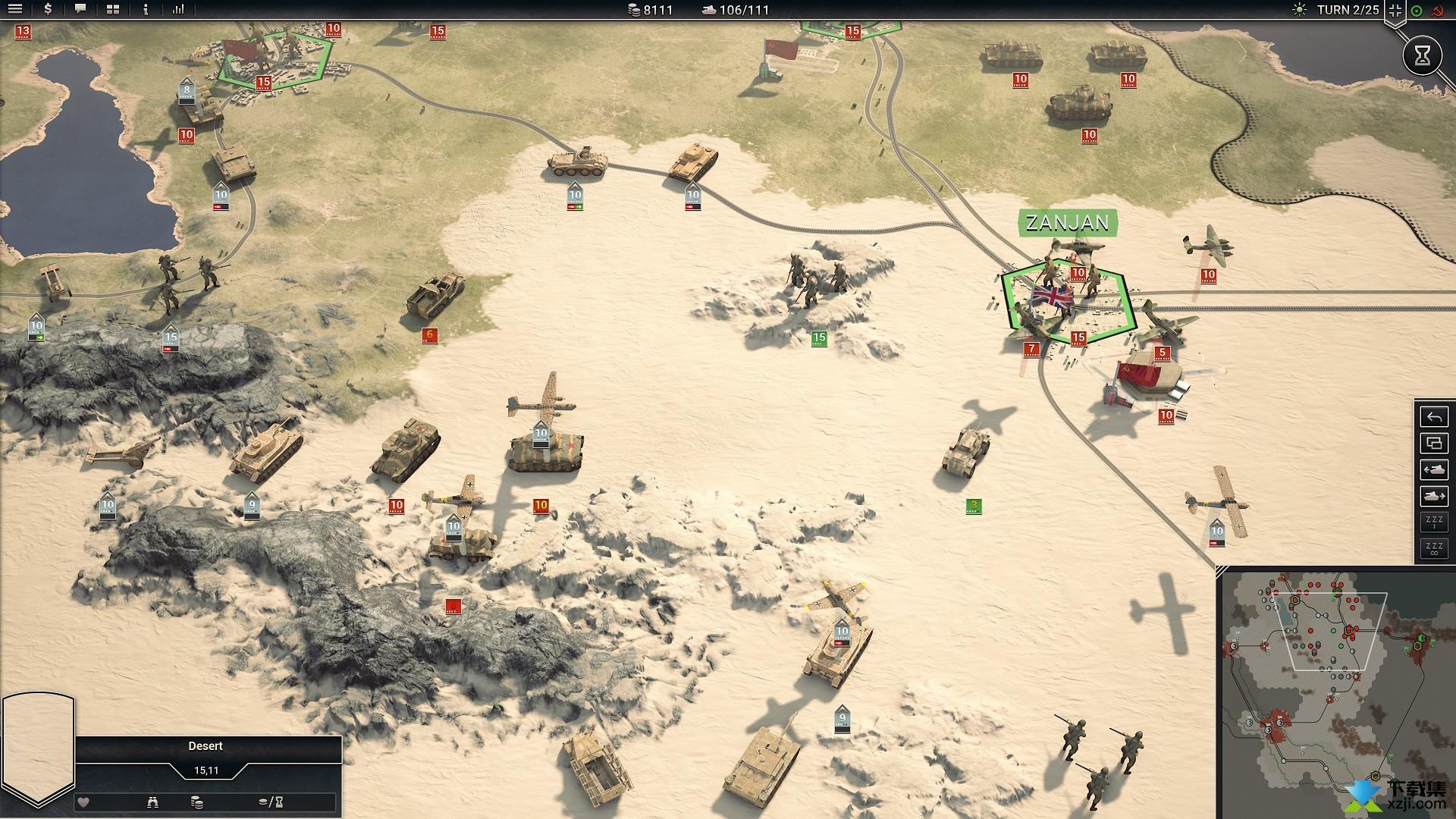 装甲军团2界面1