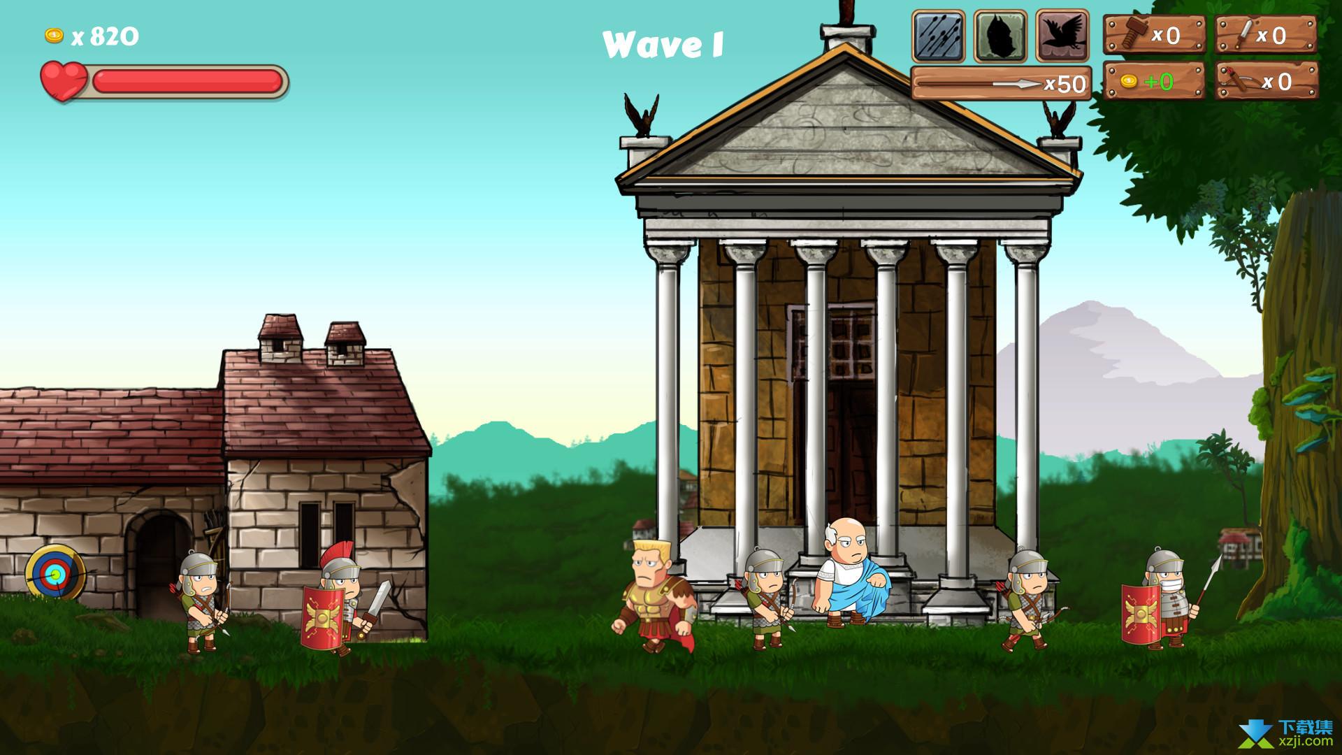 最后的罗马村庄界面