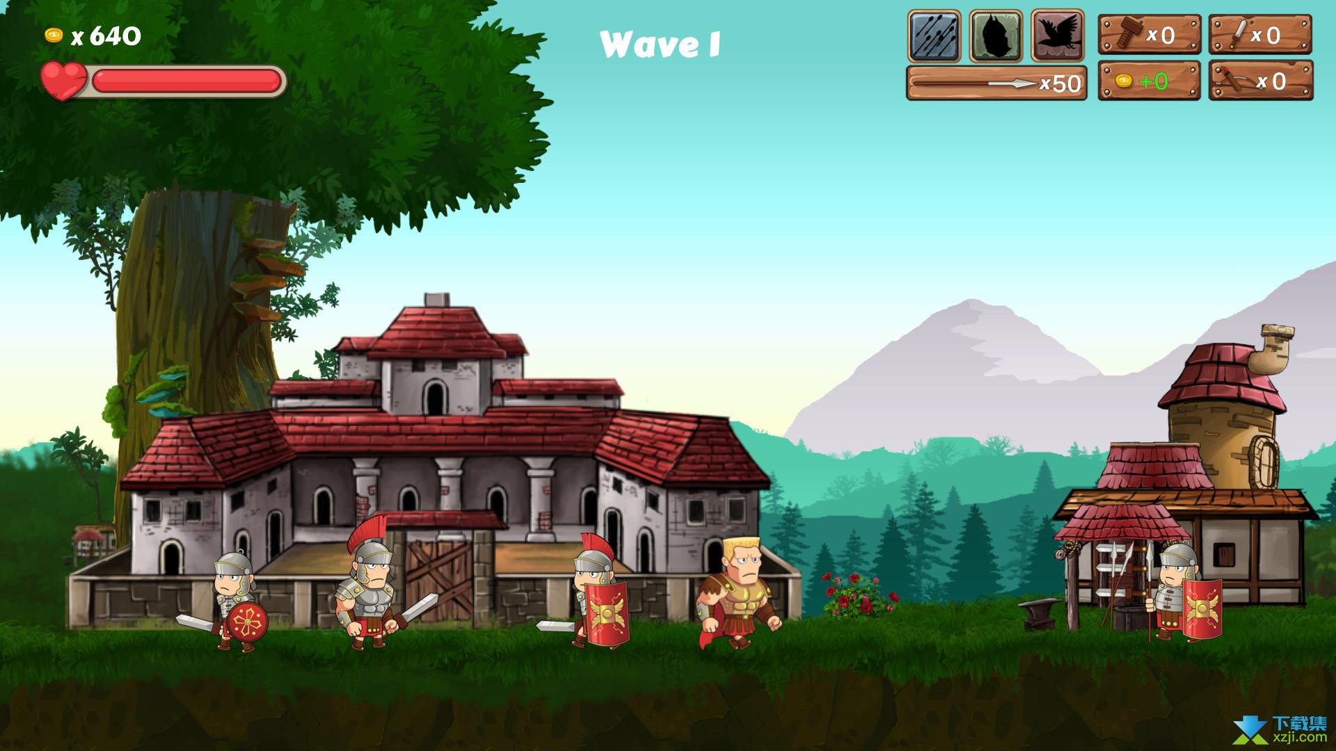 最后的罗马村庄界面2