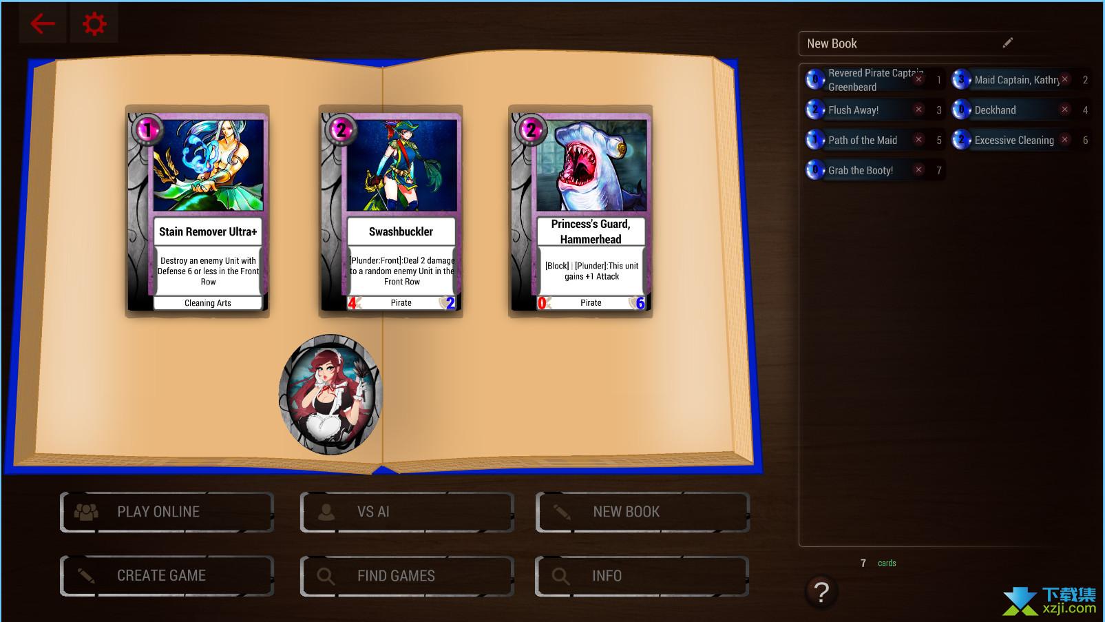 卡牌战斗精神链接界面1