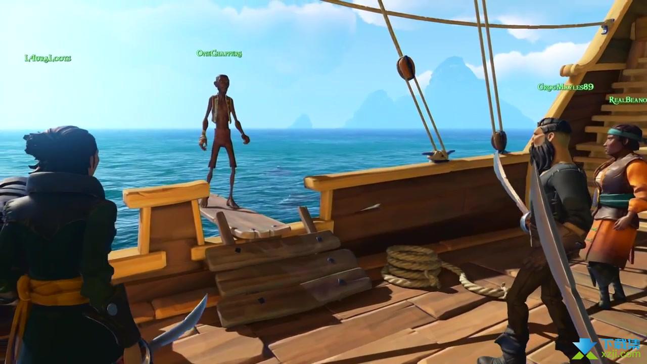 盗贼之海界面4