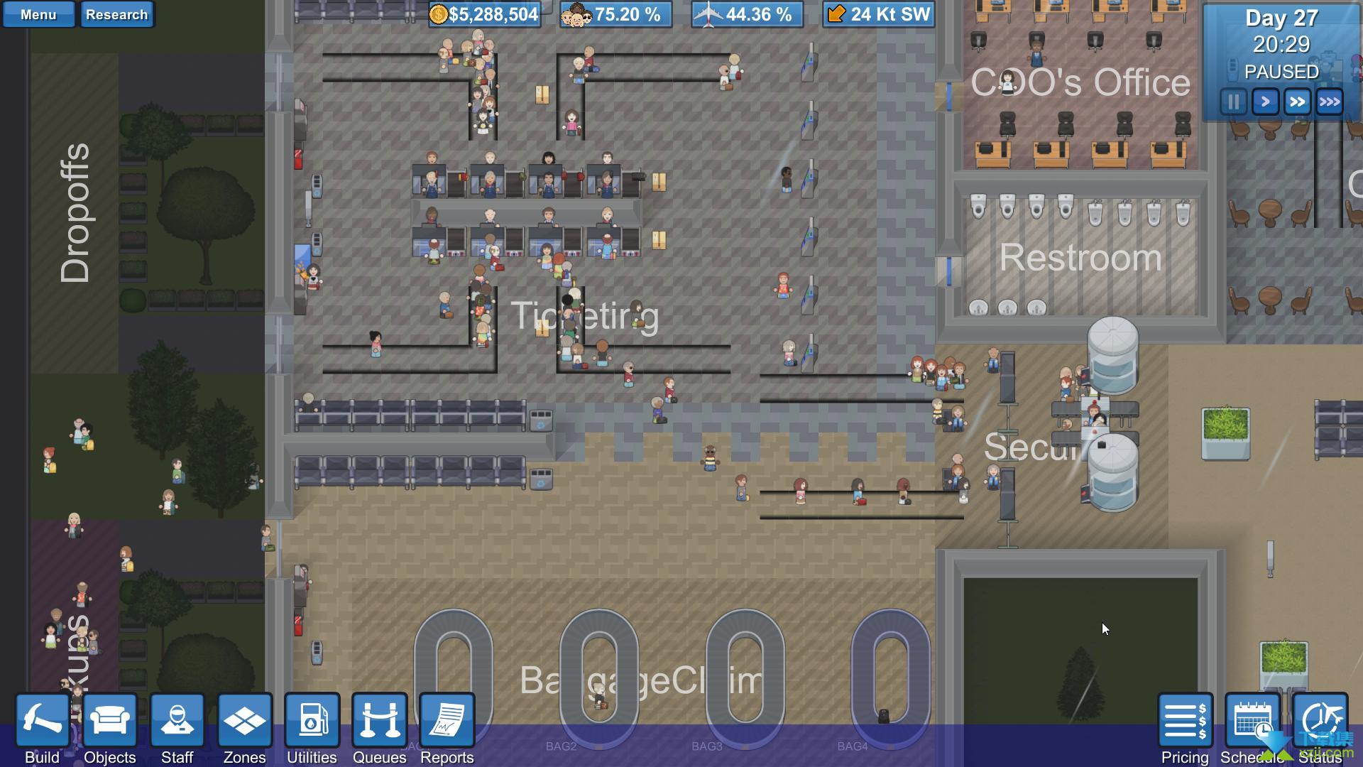 模拟机场界面1