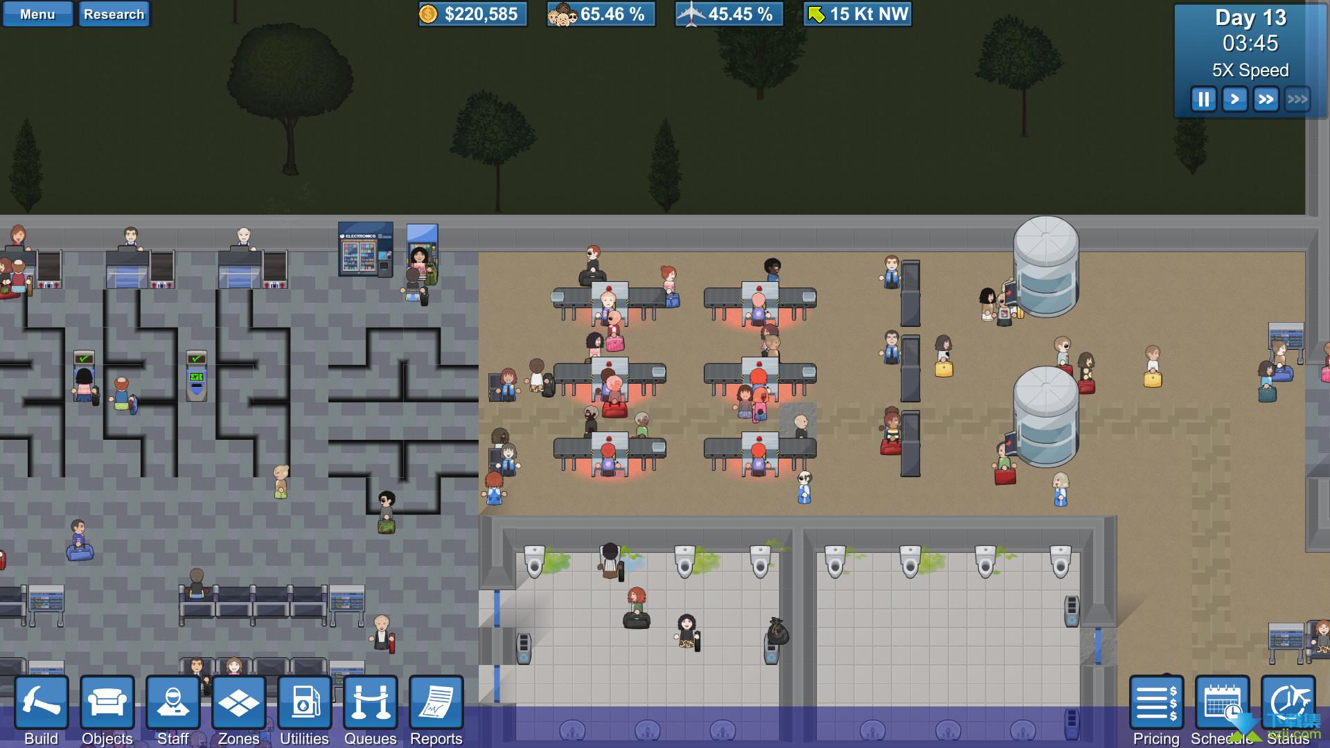 模拟机场界面4