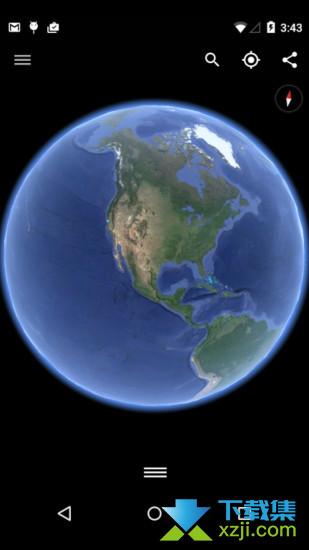 谷歌地球界面