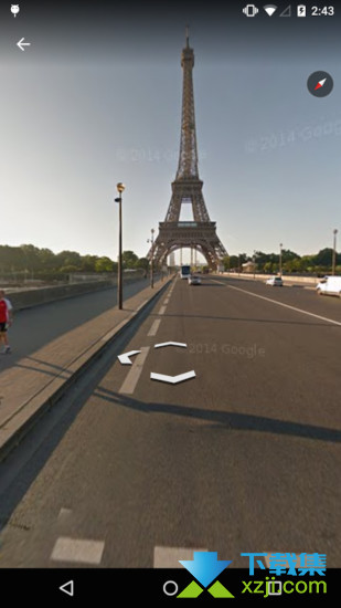 谷歌地球界面2