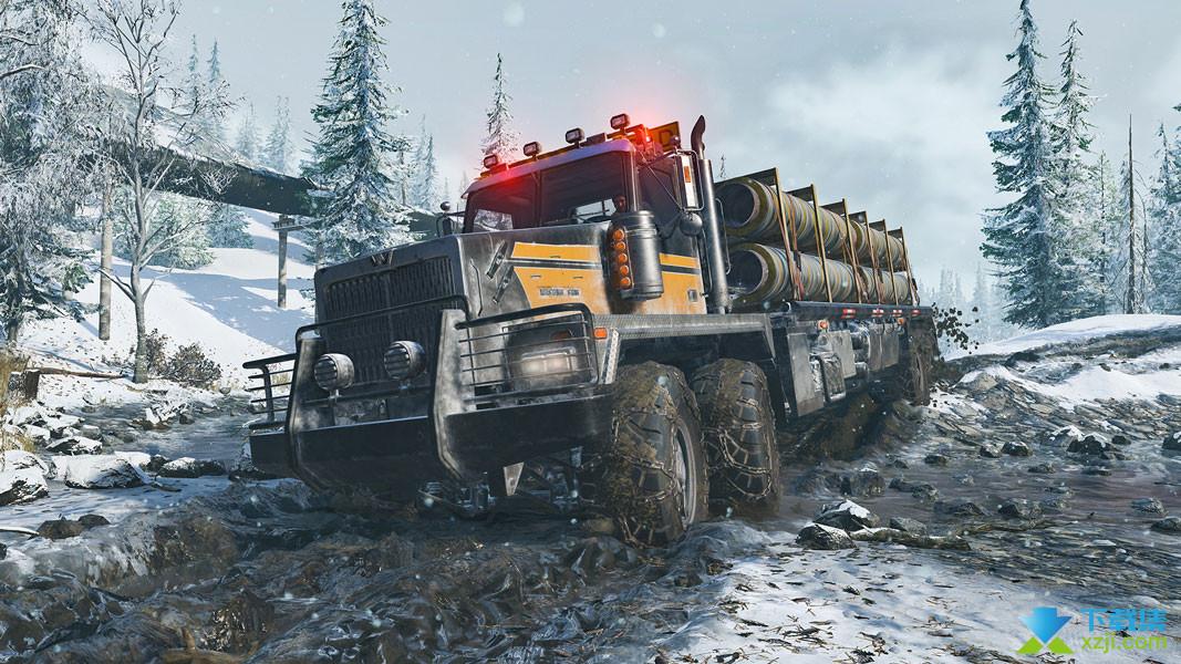 雪地奔驰界面