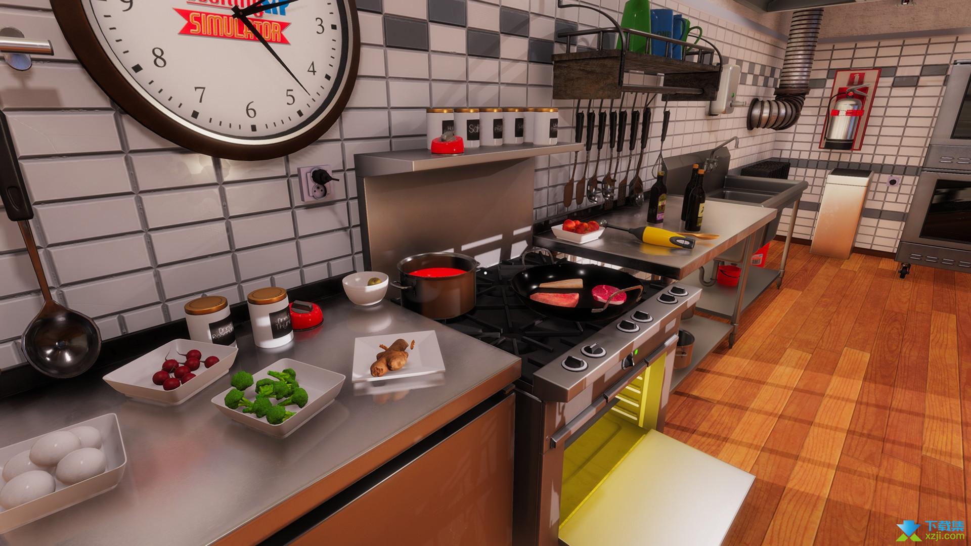 料理模拟器界面