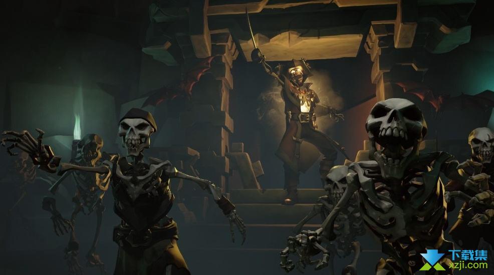 《盗贼之海》游戏中骷髅船打法介绍