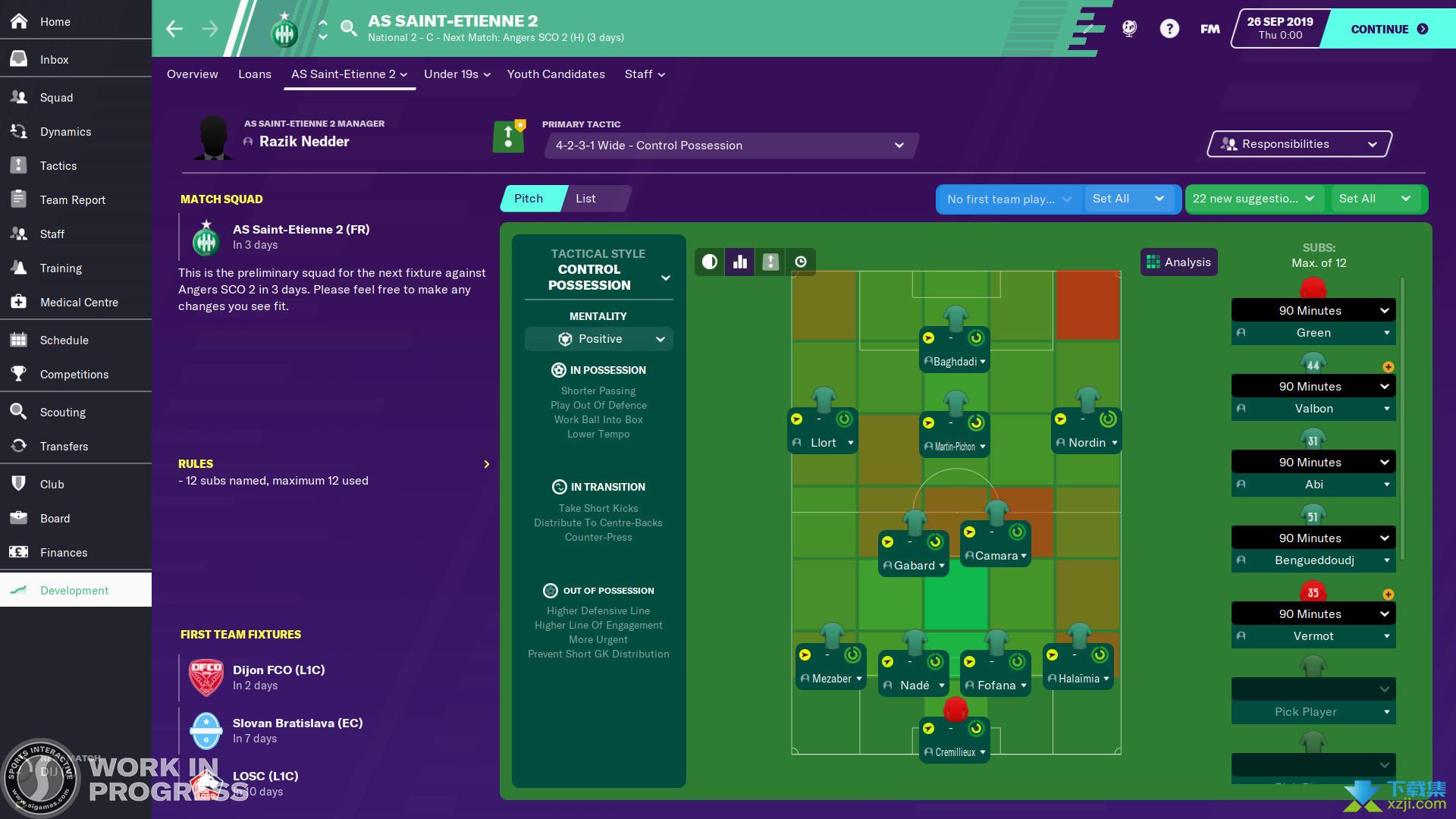 足球经理2020界面3