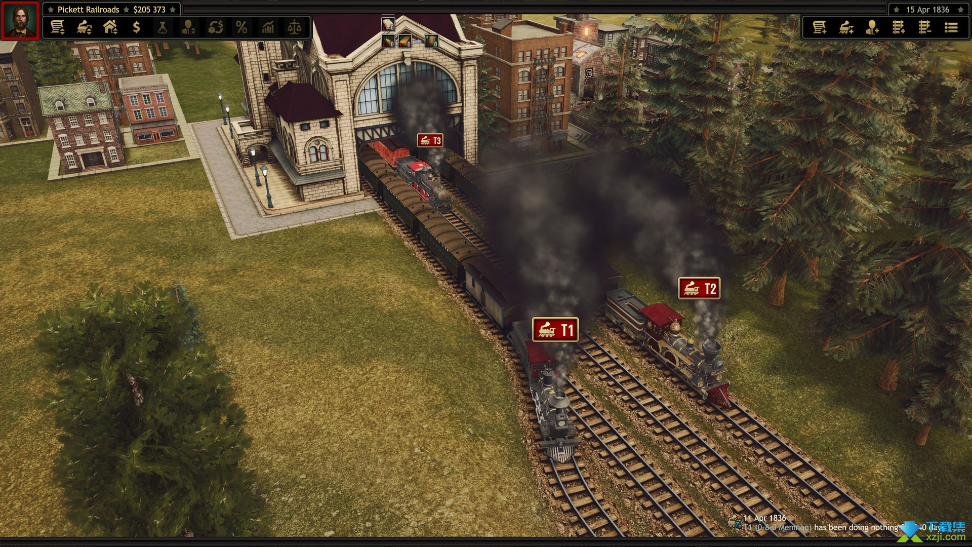 铁路公司界面2