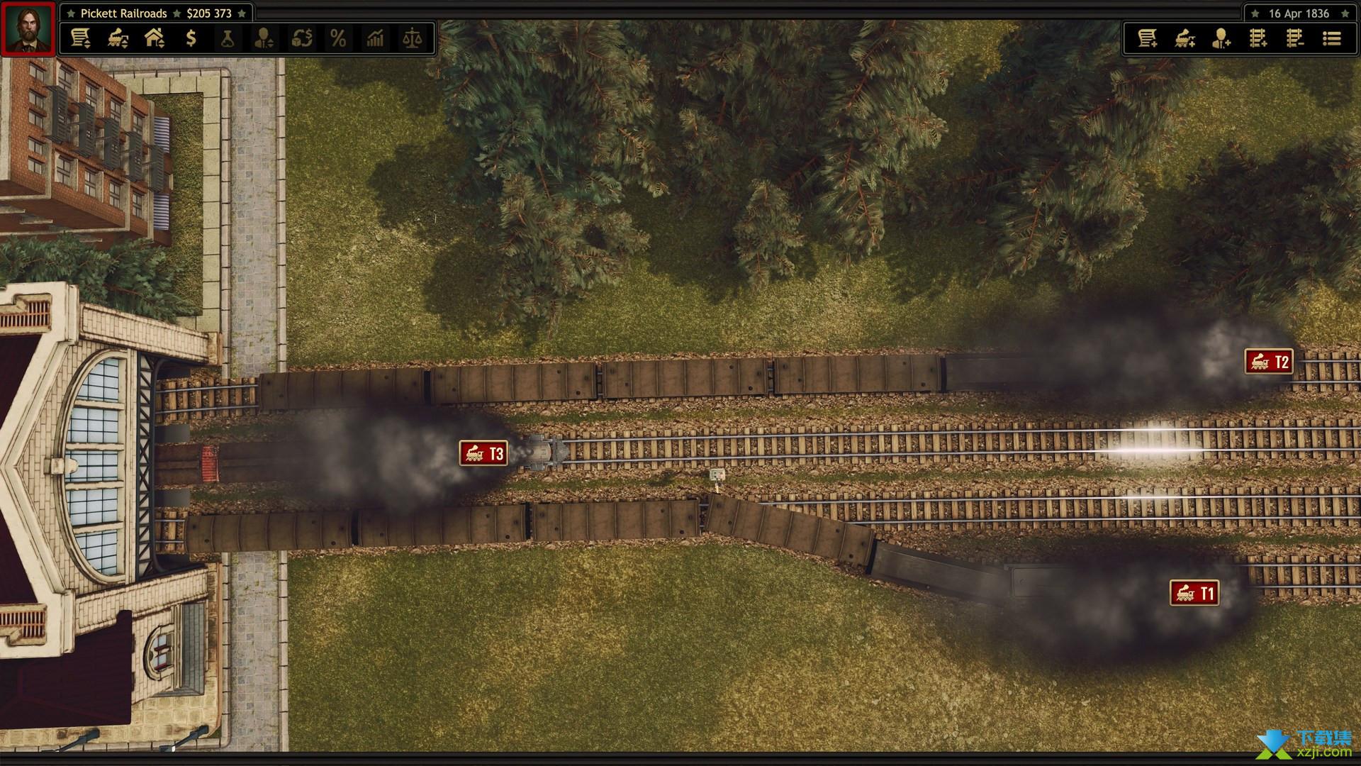 铁路公司界面3