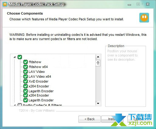 Media Player Codec Pack Plus界面