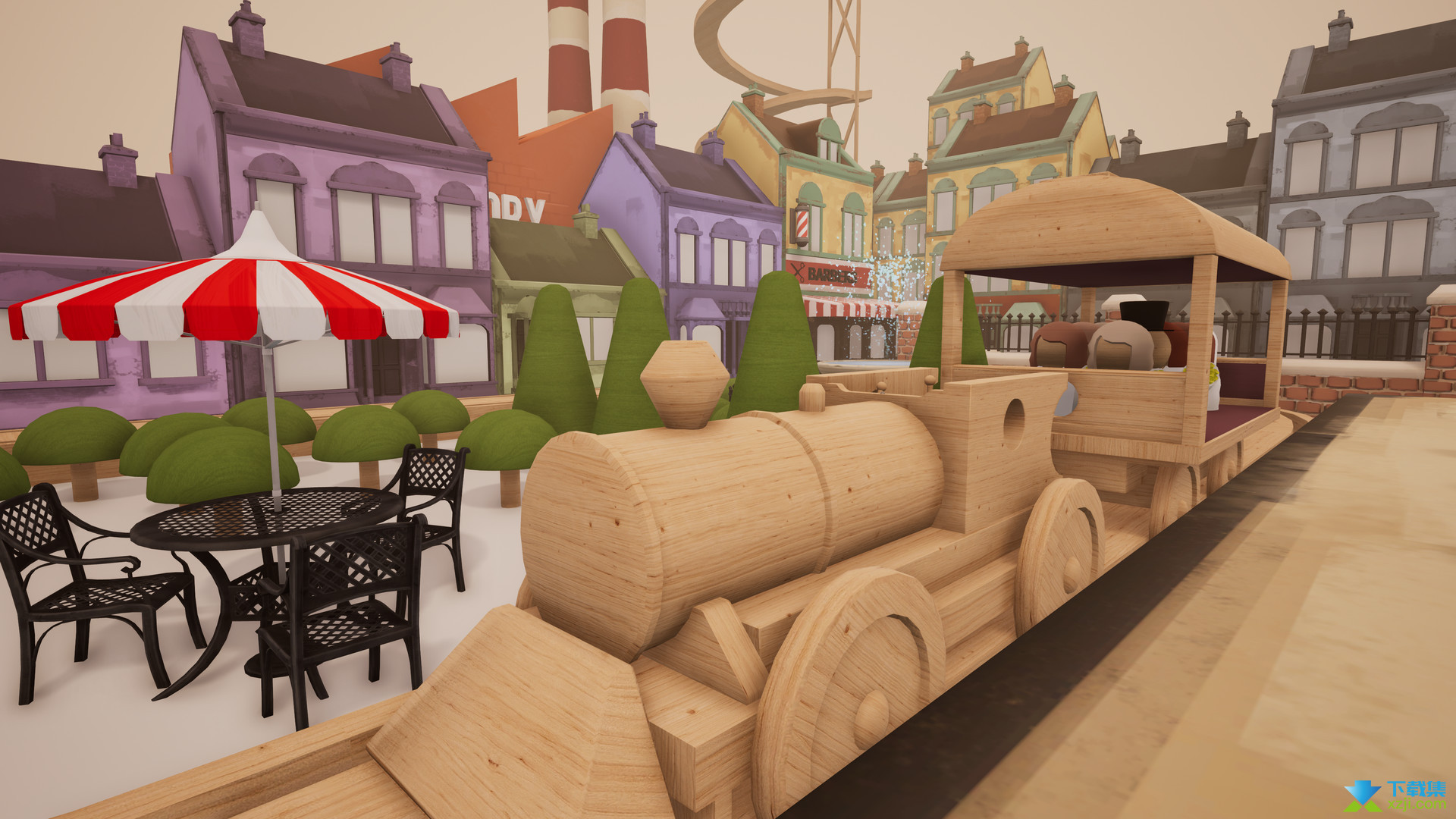 轨道模型游戏界面