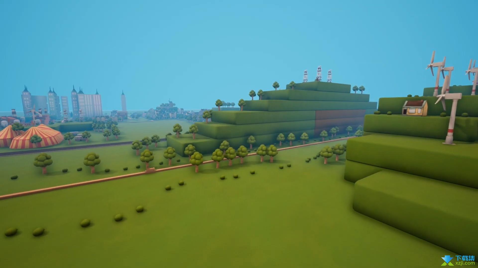 轨道模型游戏界面1