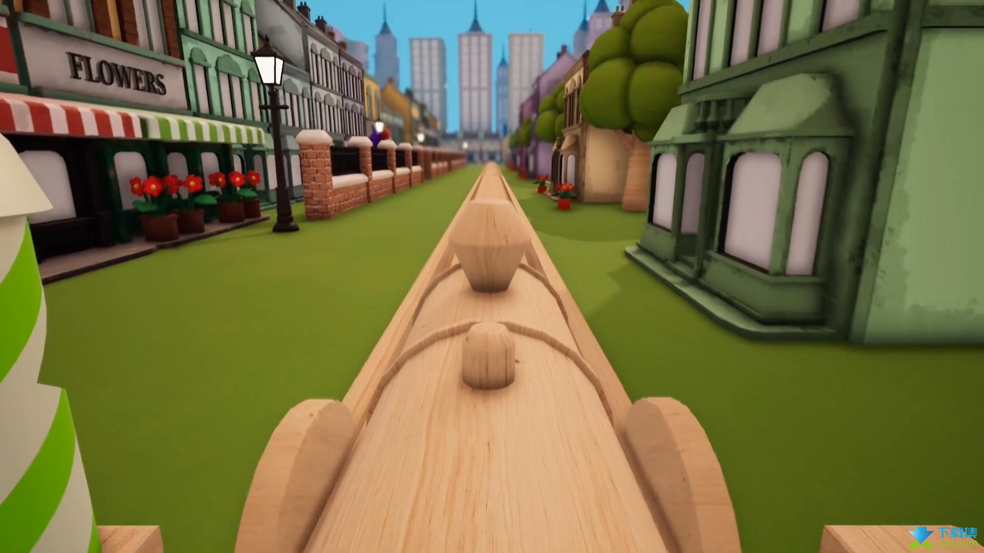 轨道模型游戏界面2