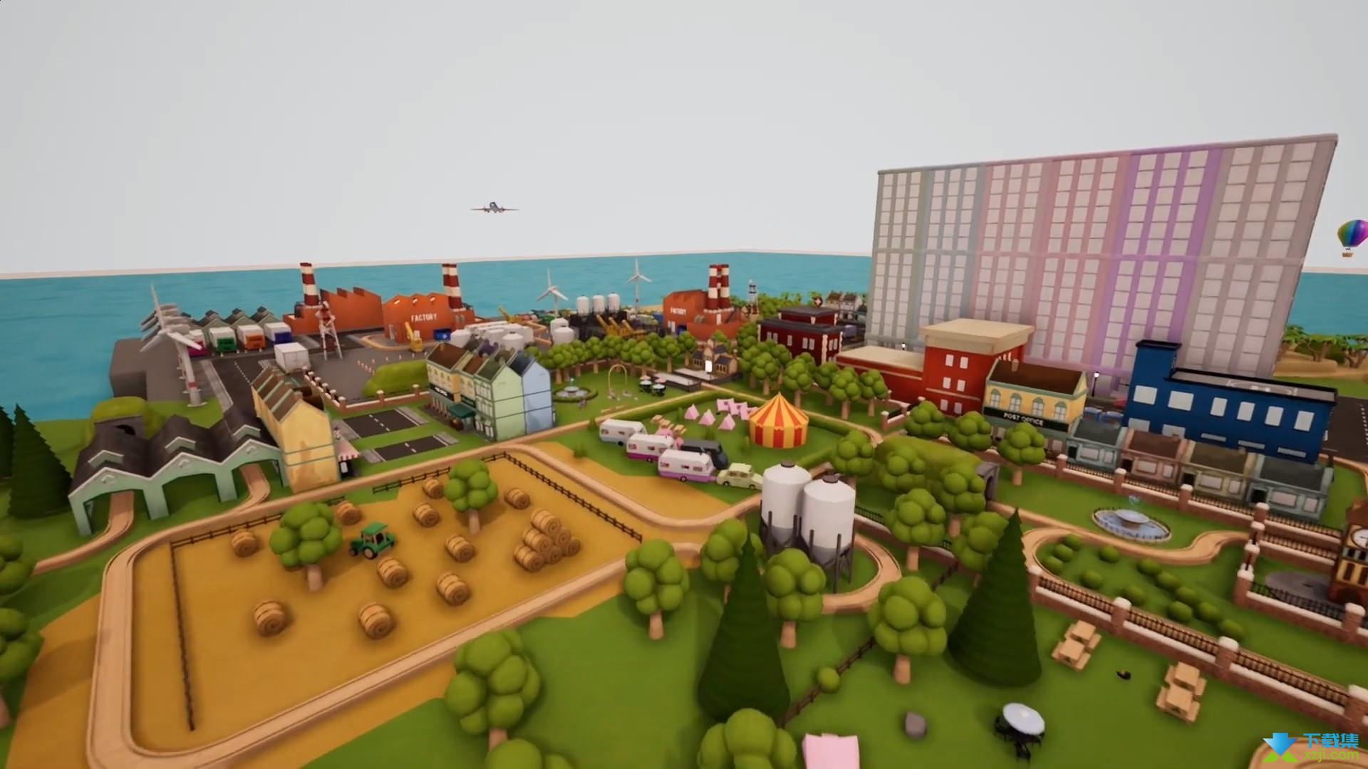 轨道模型游戏界面3