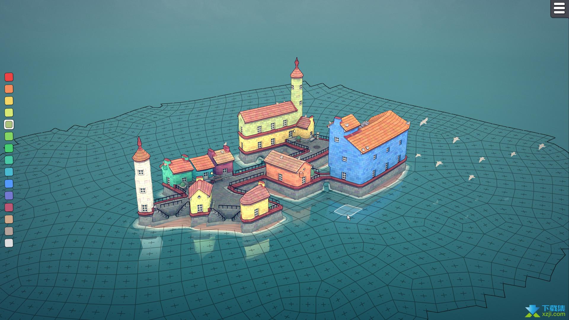 Townscaper界面1