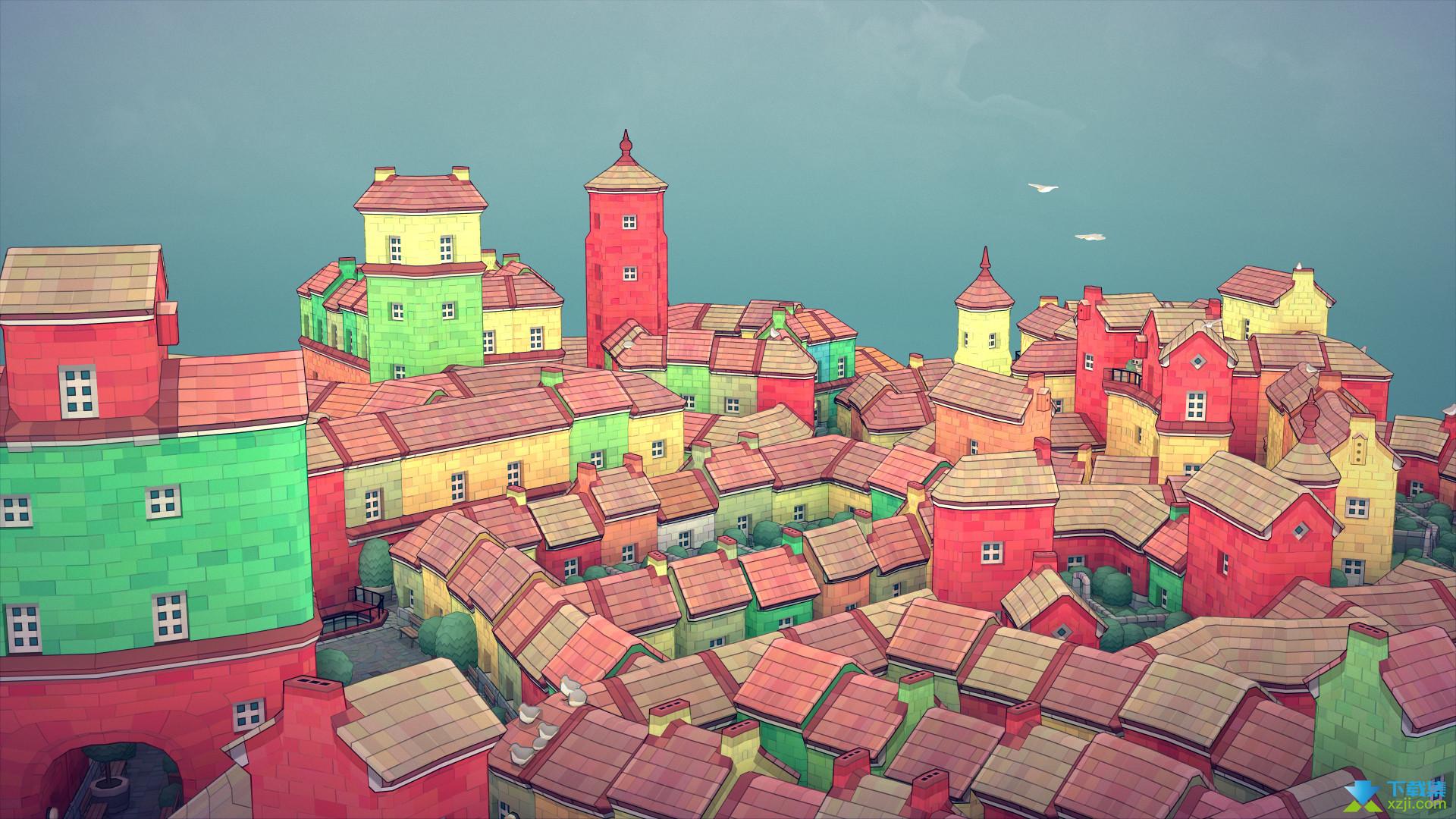 Townscaper界面2