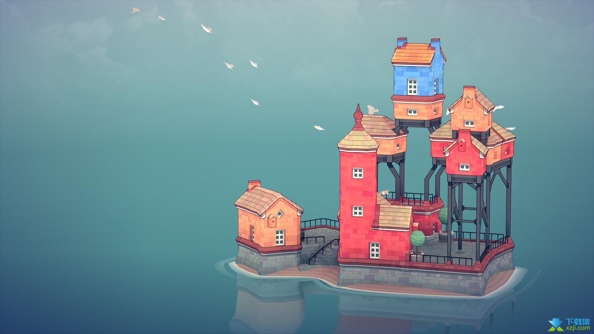 Townscaper界面4