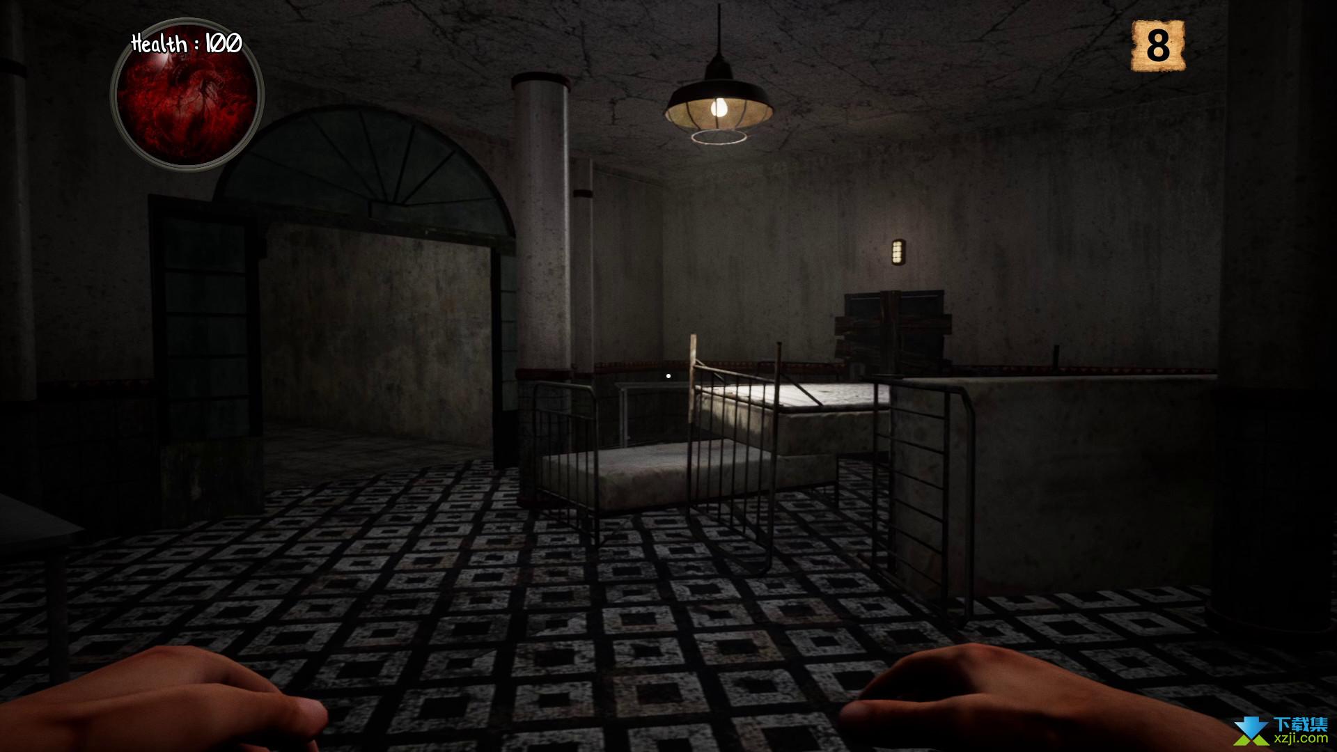 恐怖医院游戏界面