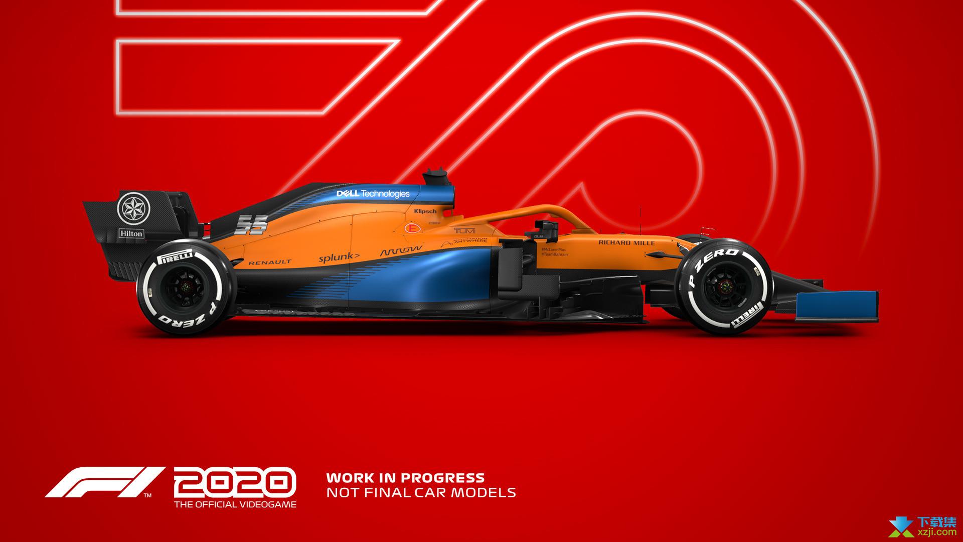 F1 2020界面