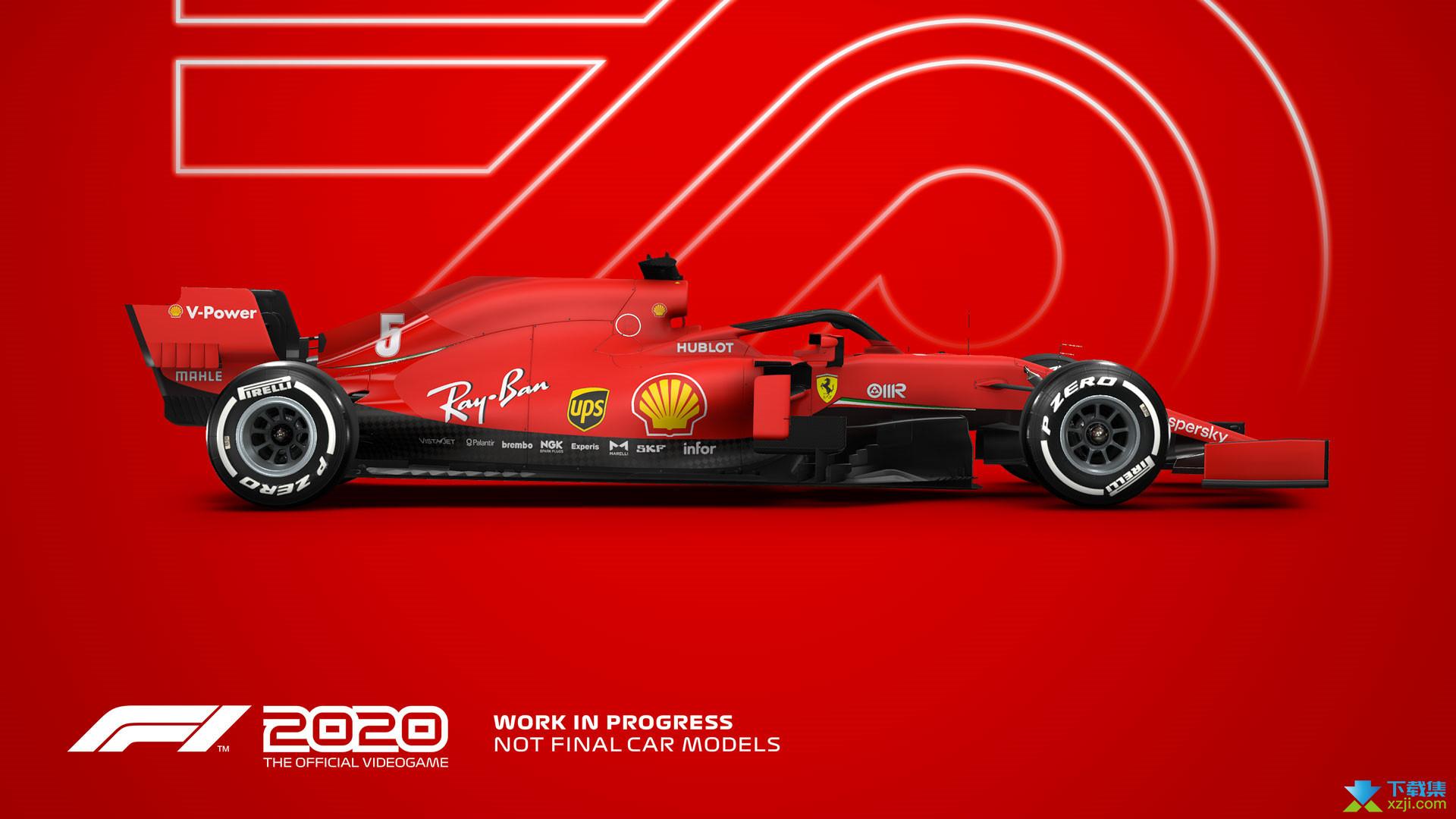 F1 2020界面1