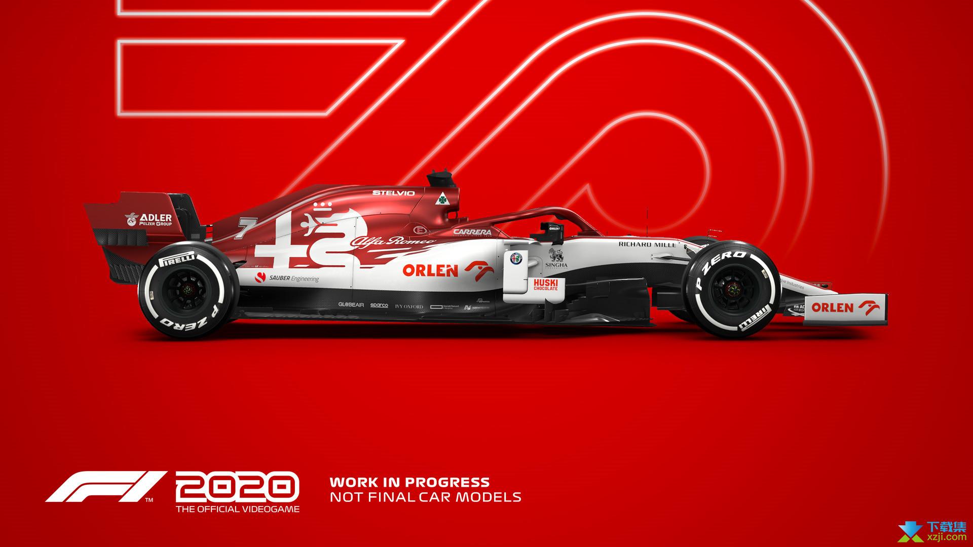 F1 2020界面2