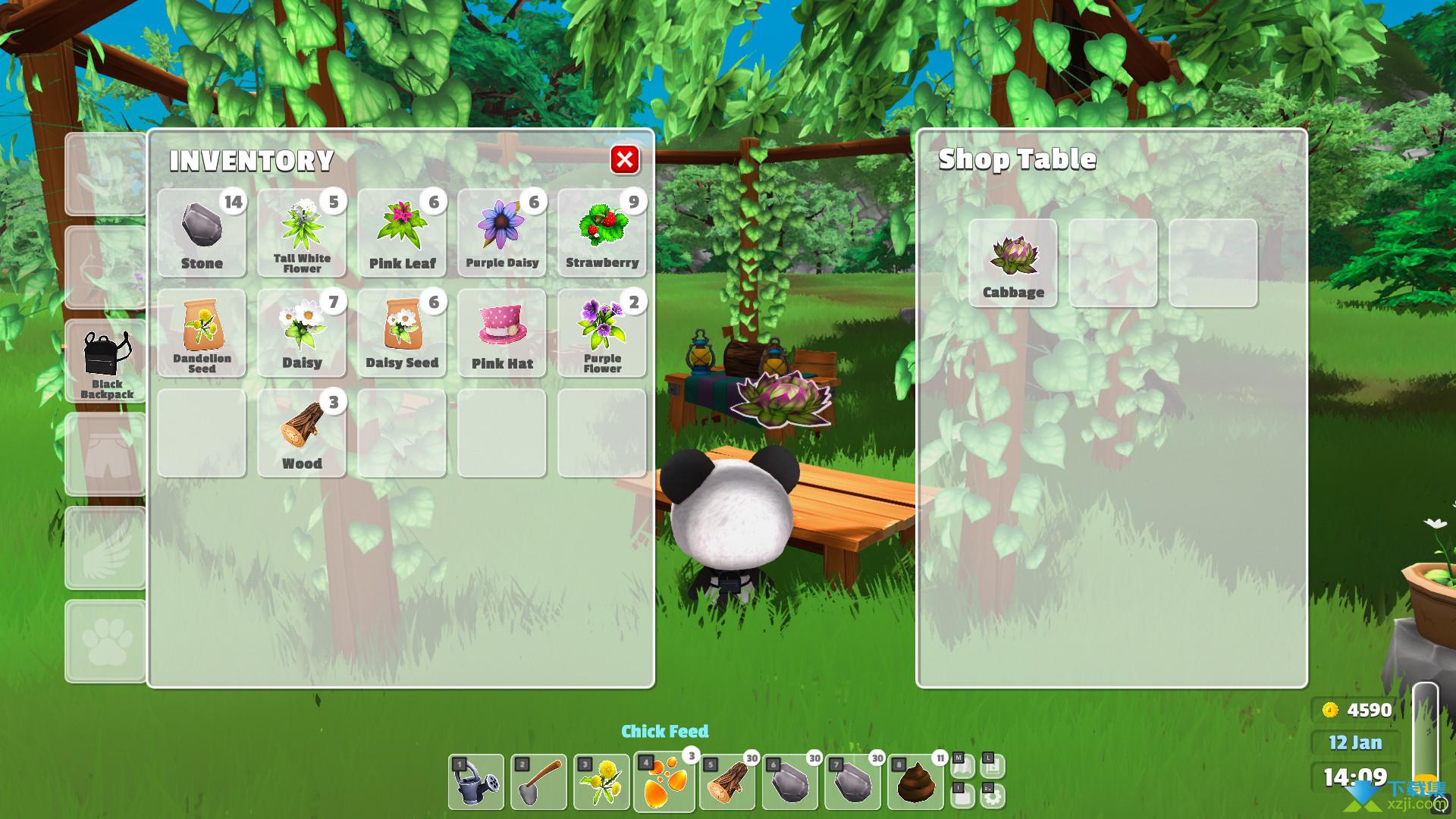 花园动物界面2