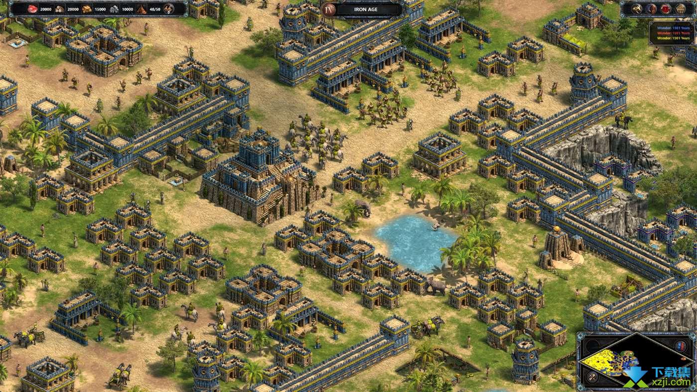 帝国时代终极版界面1