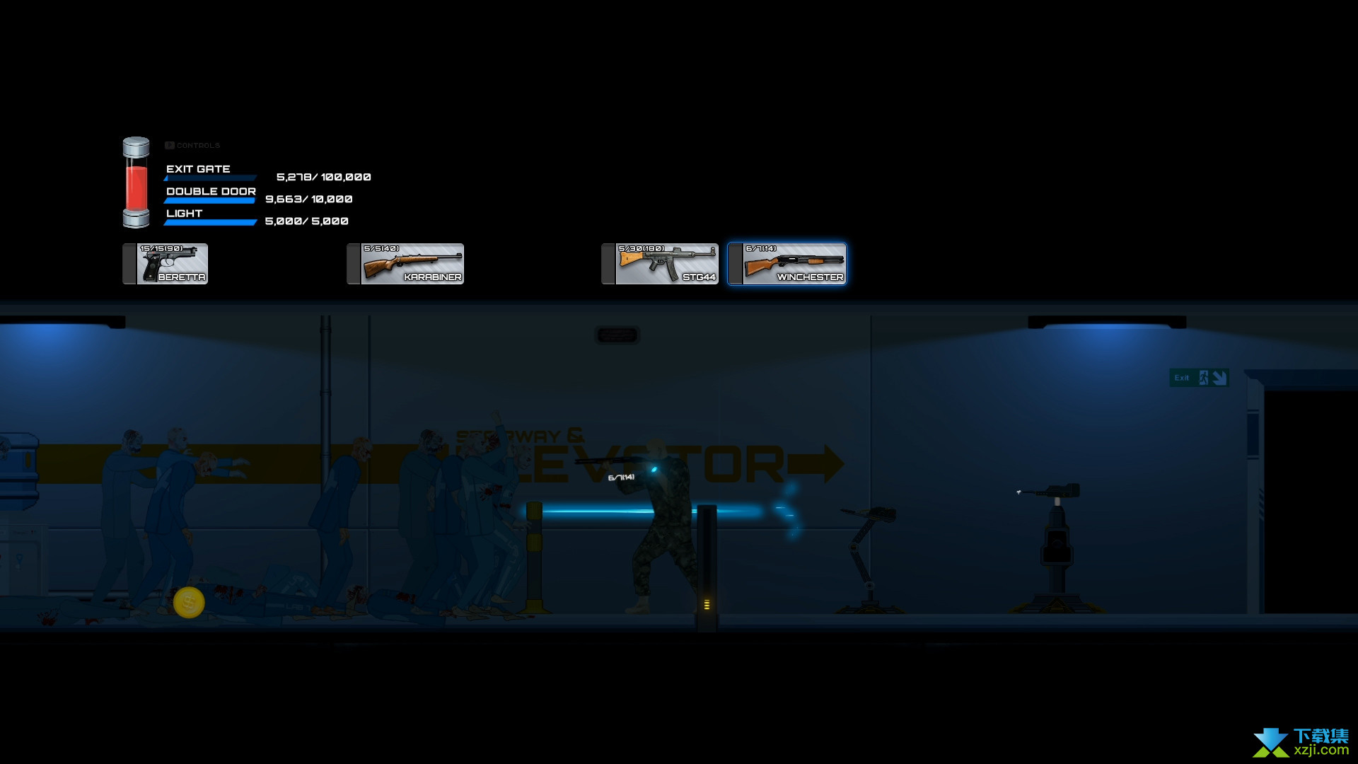 7号实验室寒冷的夜晚界面2