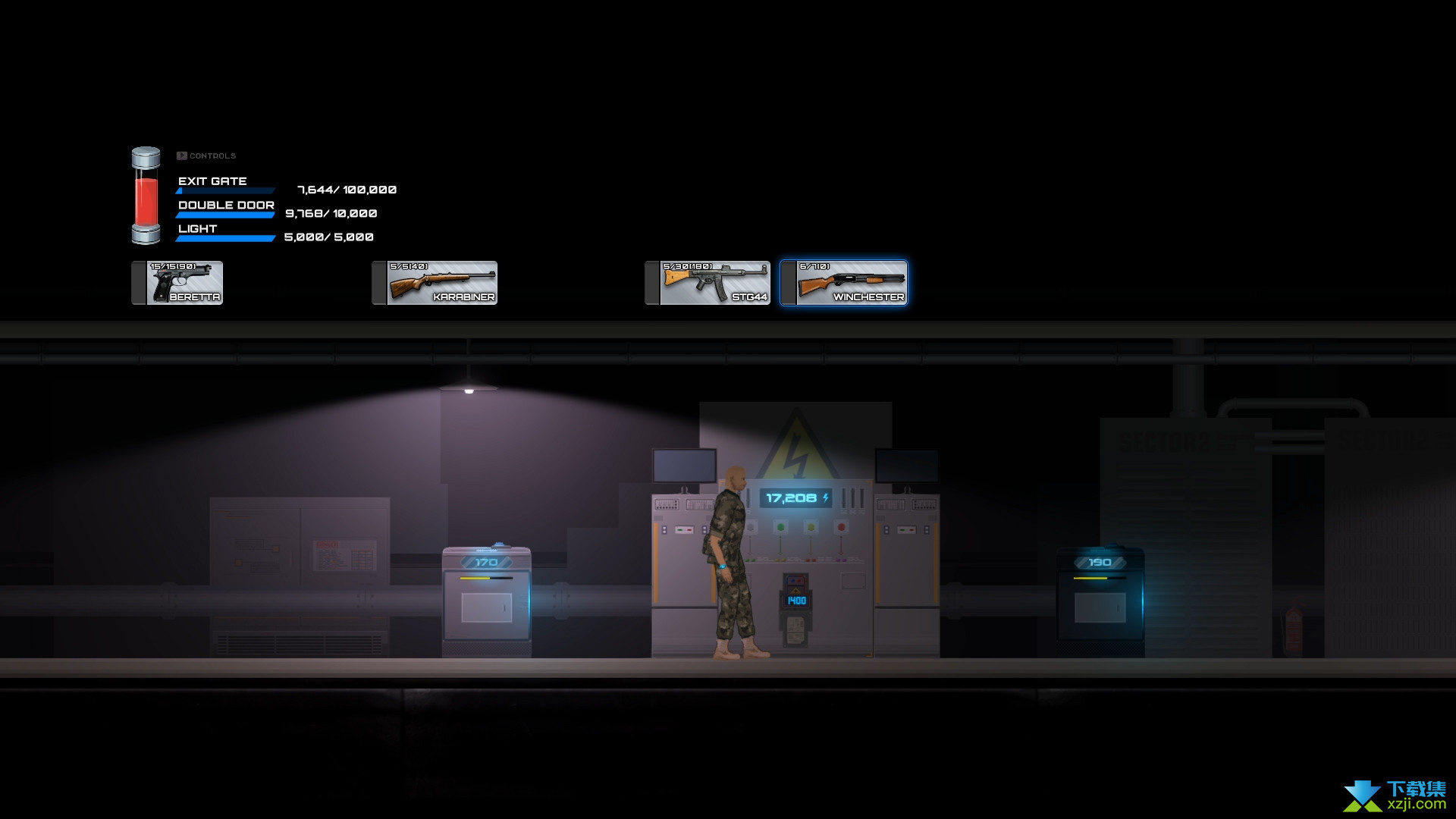 7号实验室寒冷的夜晚界面4