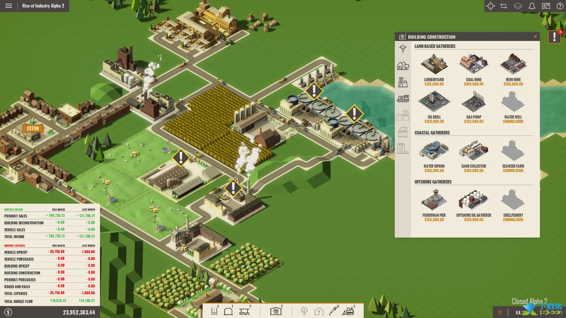 工业崛起界面4