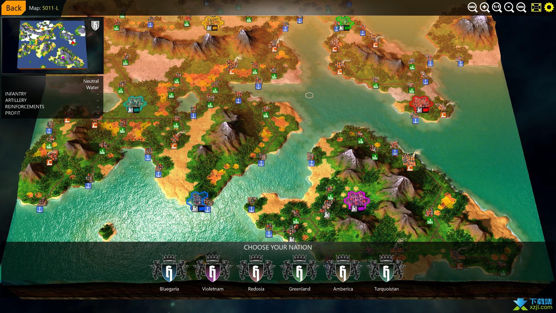 六角帝国3界面