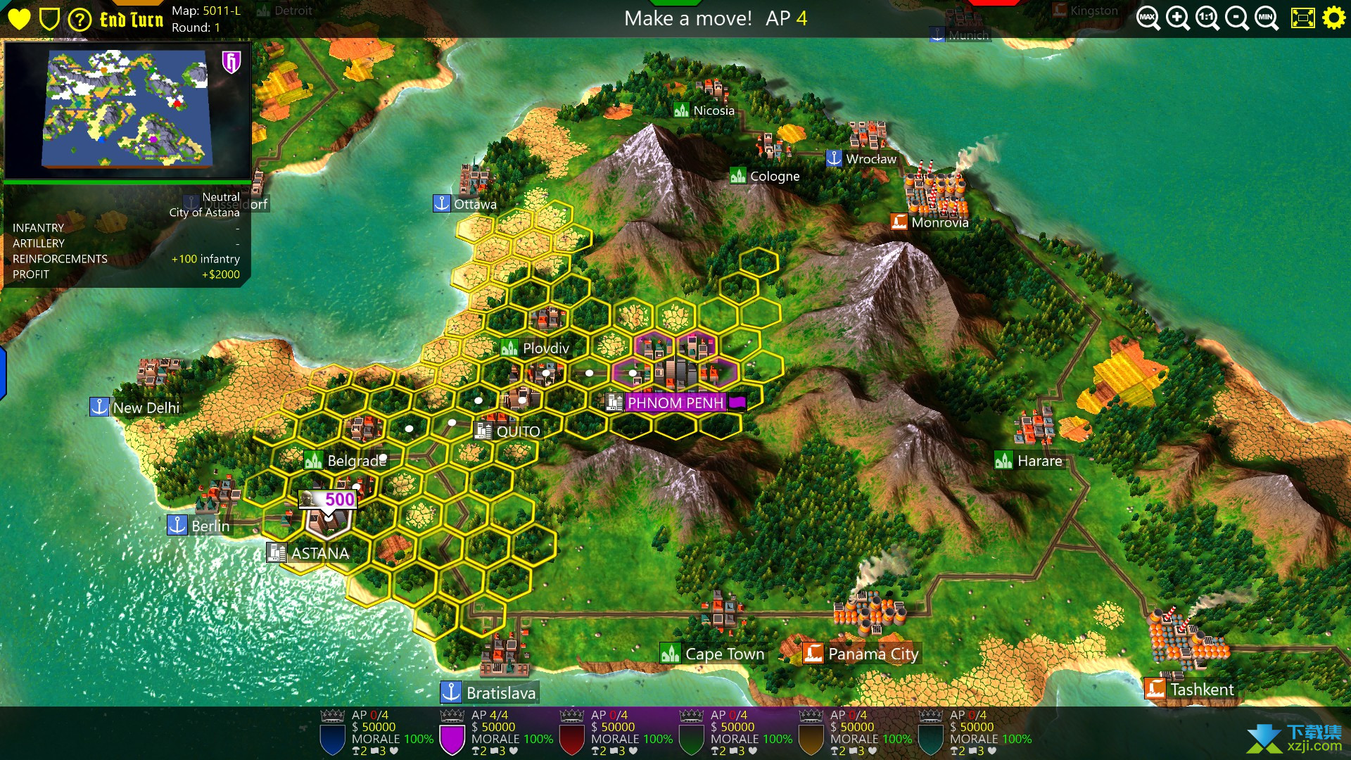 六角帝国3界面1